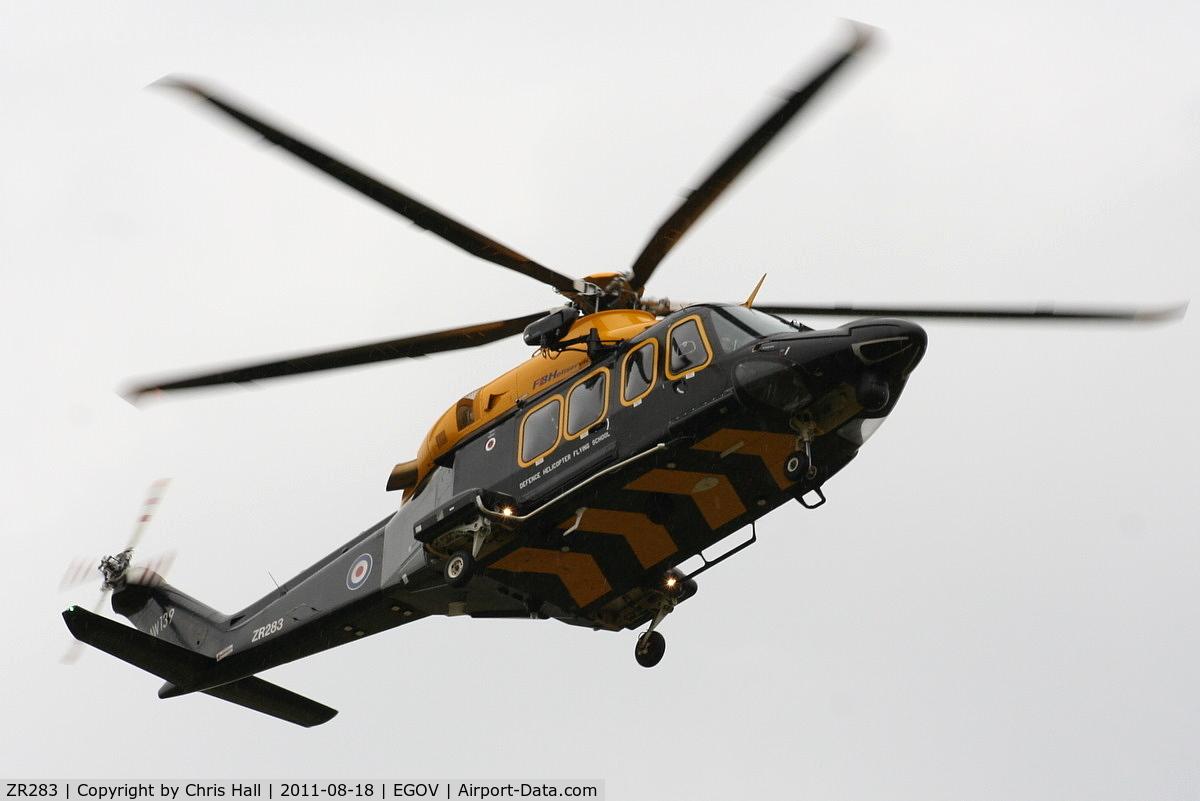 ZR283, 2010 AgustaWestland AW-139 C/N 31283, RAF Search and Rescue Training Unit (SARTU)
