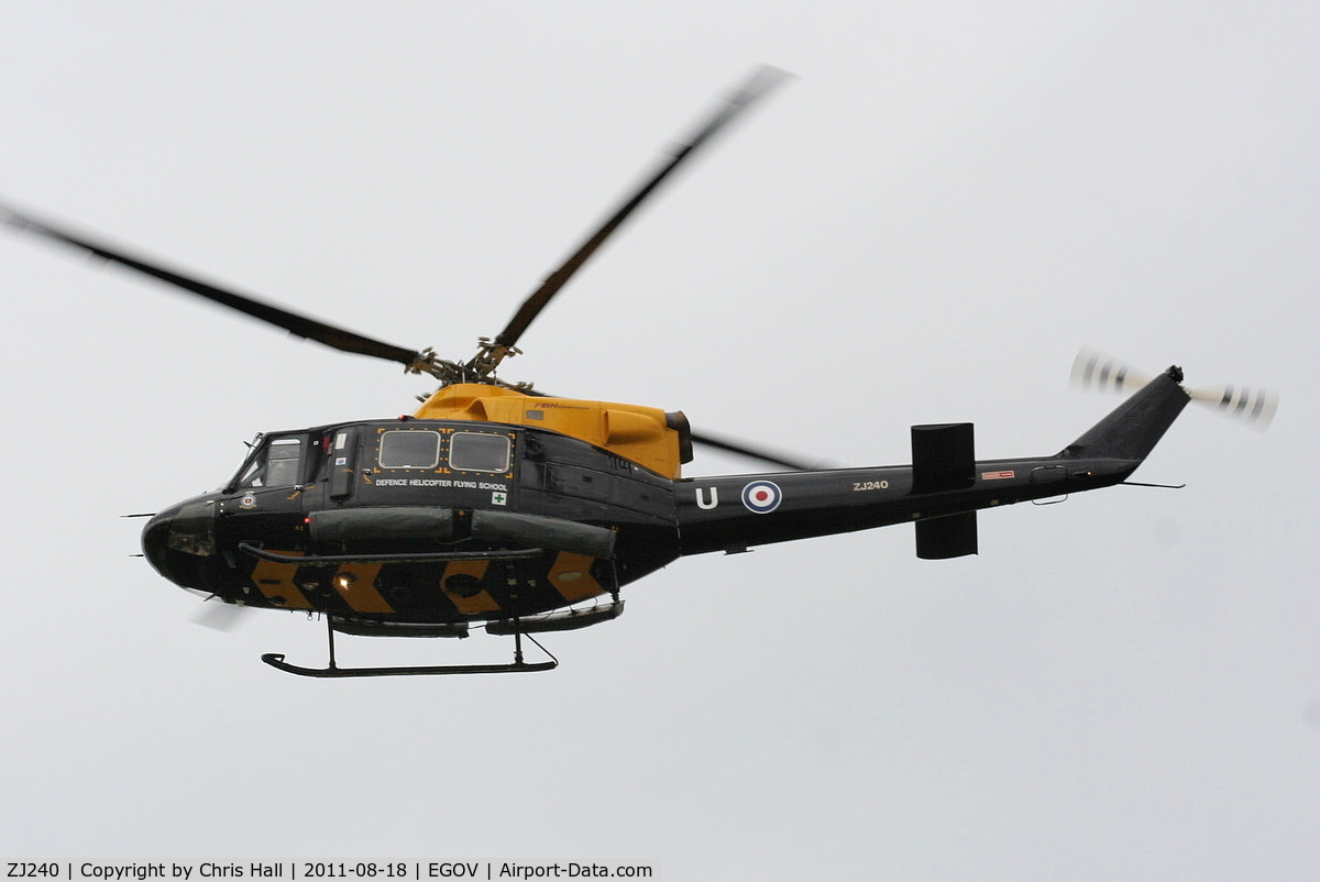 ZJ240, 1997 Bell 412EP Griffin HT1 C/N 36163, RAF Search and Rescue Training Unit (SARTU)
