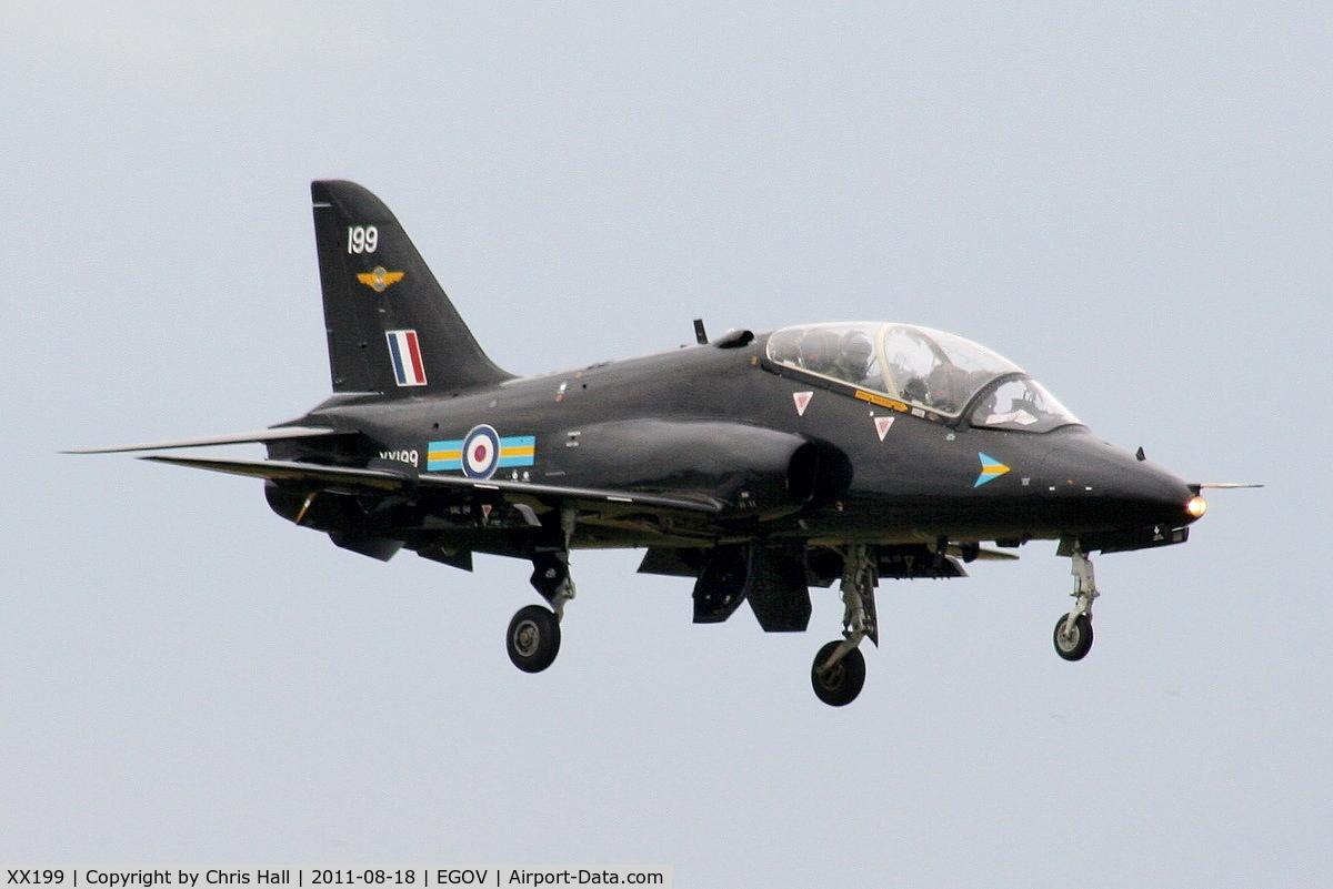 XX199, 1978 Hawker Siddeley Hawk T.1A C/N 046/312046, RAF 208(R) Sqdn