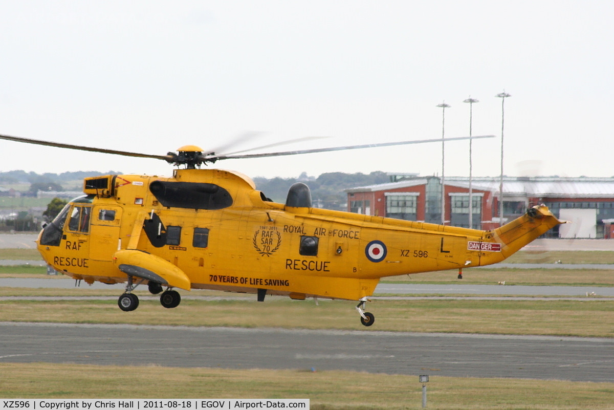 XZ596, 1978 Westland Sea King HAR.3 C/N WA862, RAF 22 Sqn C Flight