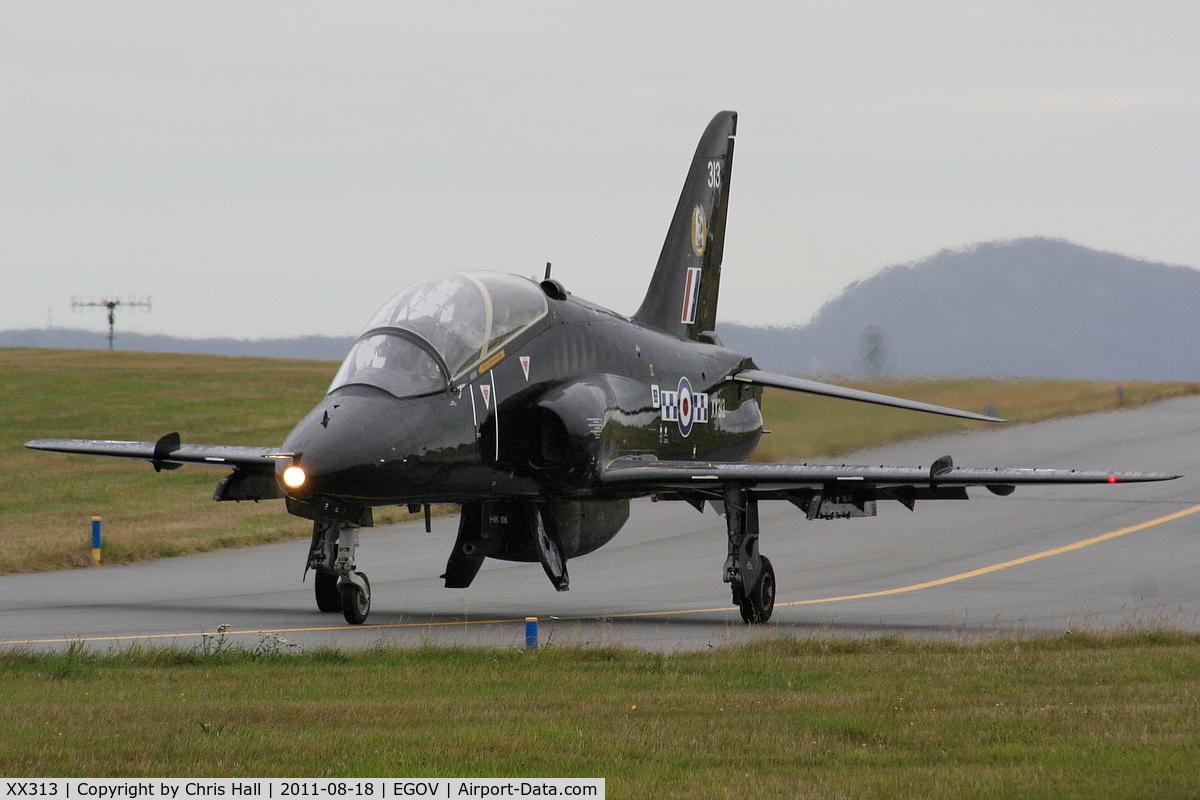 XX313, 1980 Hawker Siddeley Hawk T.1W C/N 149/312138, RAF 19(R)Sqn