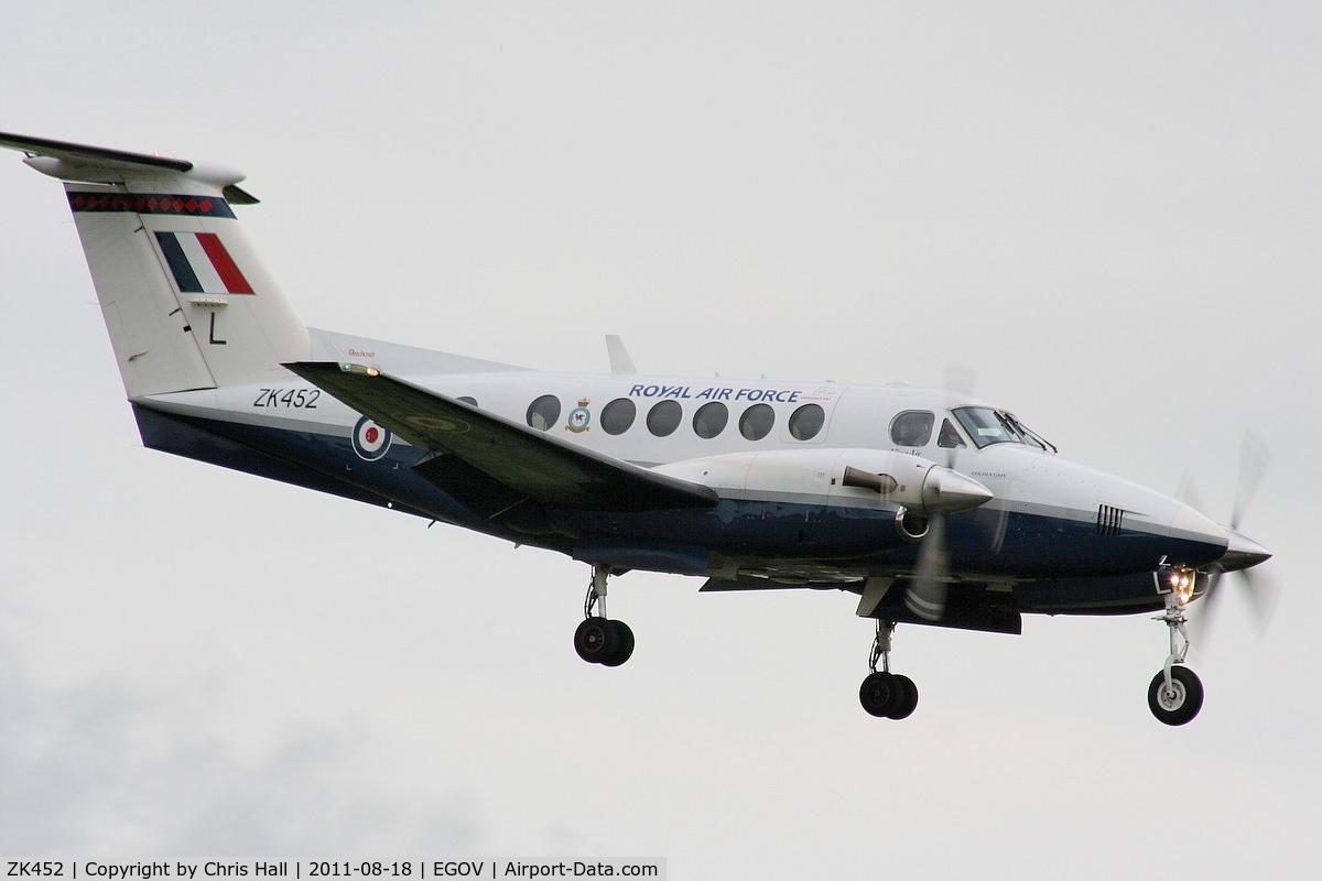 ZK452, 2003 Beech B200 King Air King Air C/N BB-1832, RAF 3FTS / 45(R) Sqn