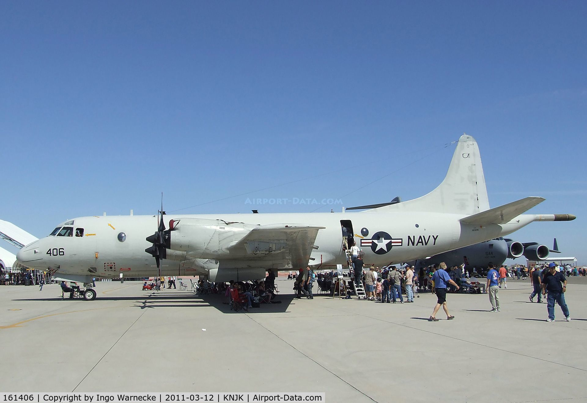 161406, Lockheed P-3C Orion C/N 285A-5743, Lockheed P-3C Orion of the US Navy  at the 2011 airshow at El Centro NAS, CA