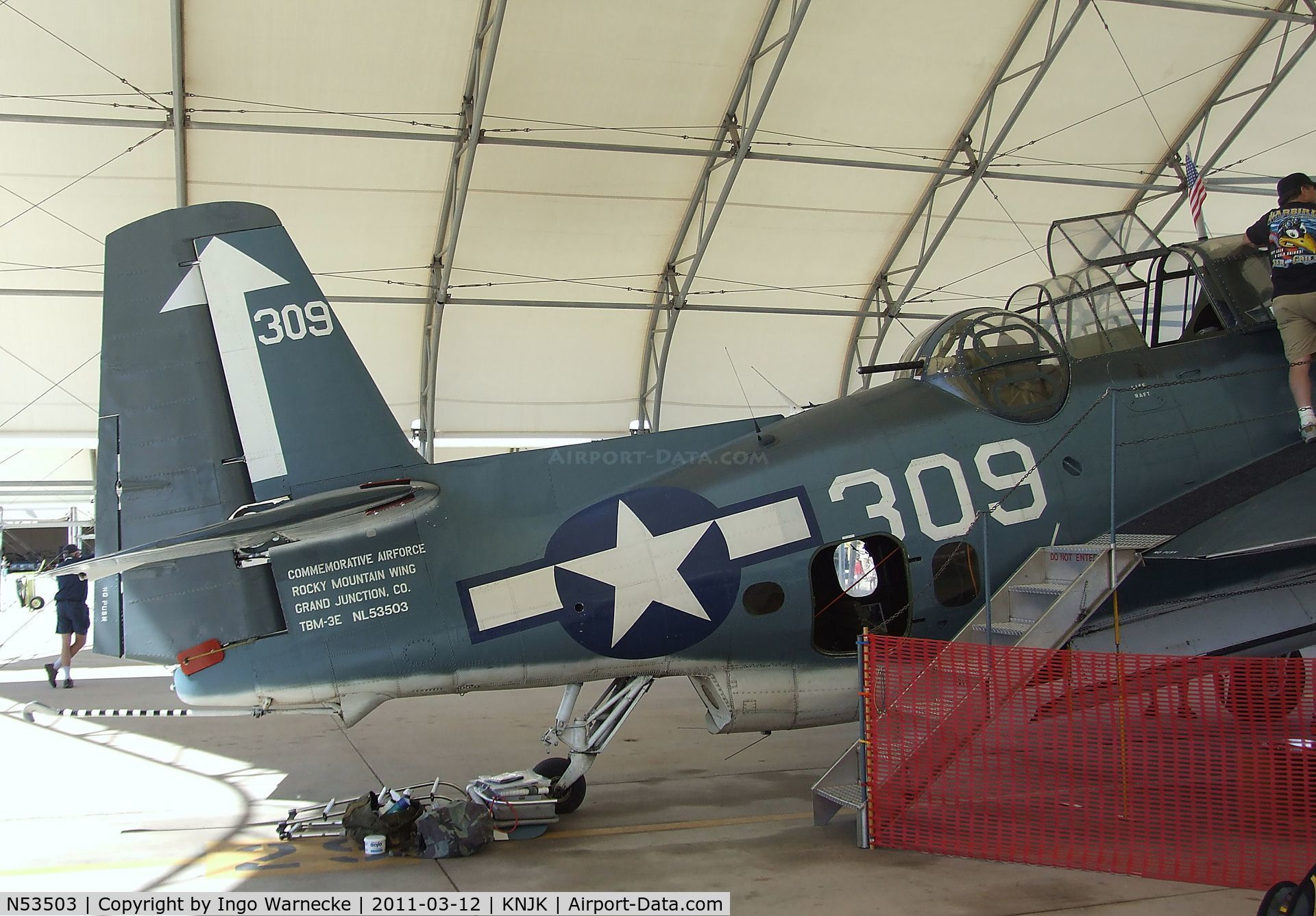 Aircraft N53503 1945 Grumman Tbm 3e Avenger C N 53503 Photo By Ingo Warnecke Photo Id Ac653928