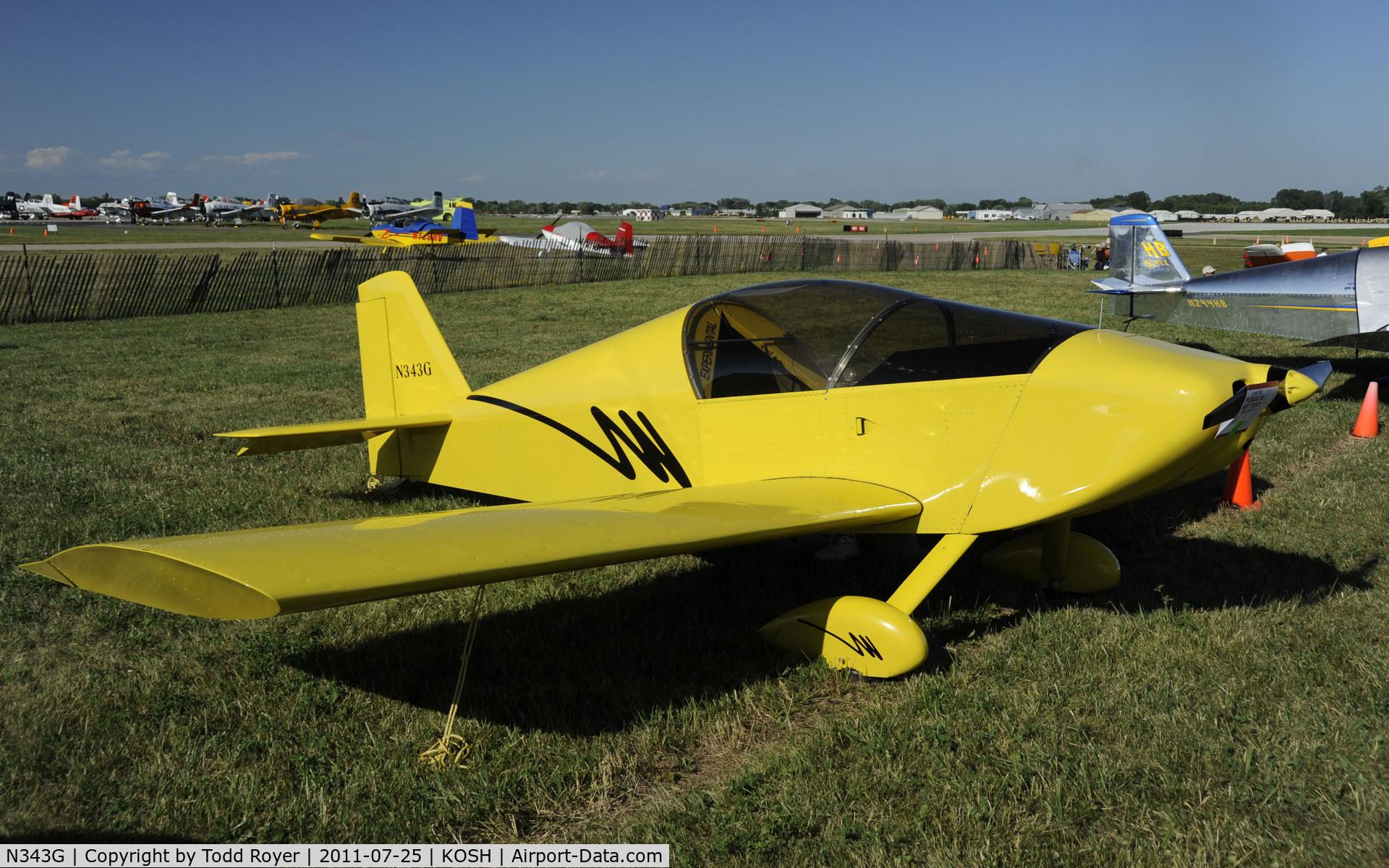 N343G, Sonex Sonex C/N 0826, AIRVENTURE 2011