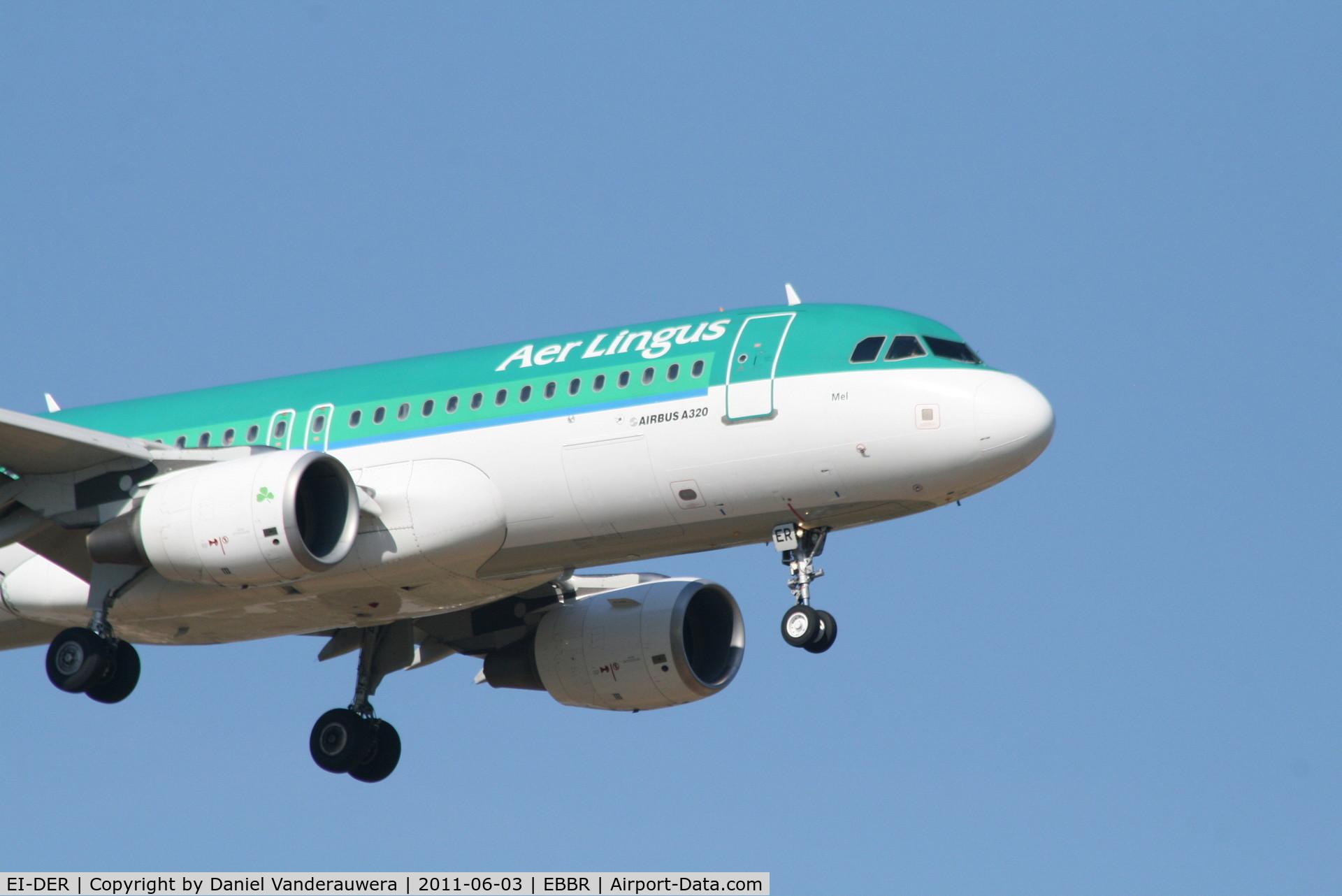 EI-DER, 2005 Airbus A320-214 C/N 2583, Arrival of flight EI630 to RWY 02