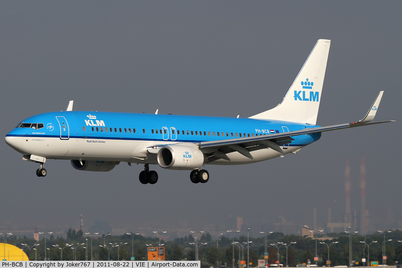 PH-BCB, 2011 Boeing 737-8K2 C/N 39443, KLM - Royal Dutch Airlines