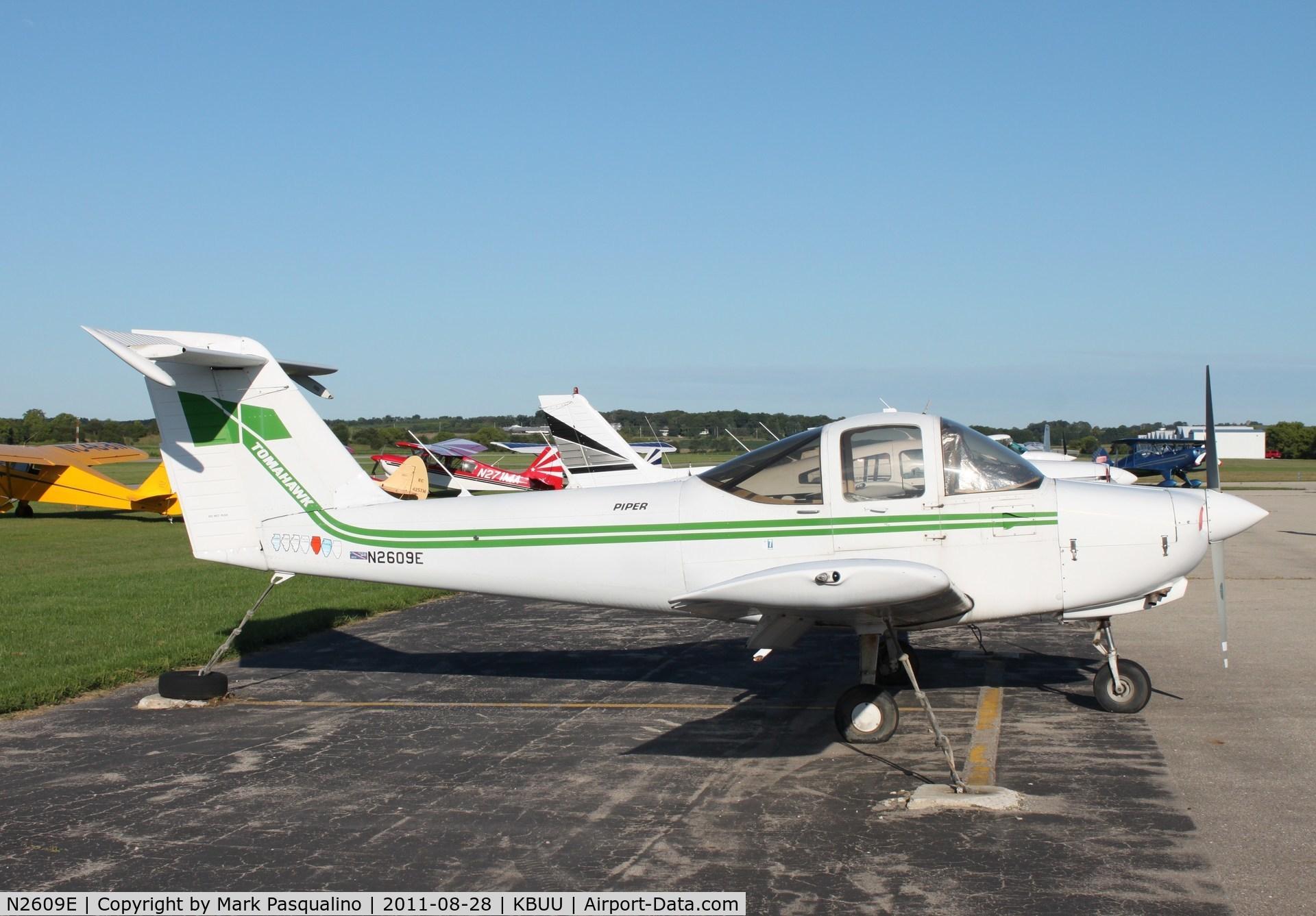 N2609E, 1978 Piper PA-38-112 C/N 38-78A0486, Piper PA-38-112