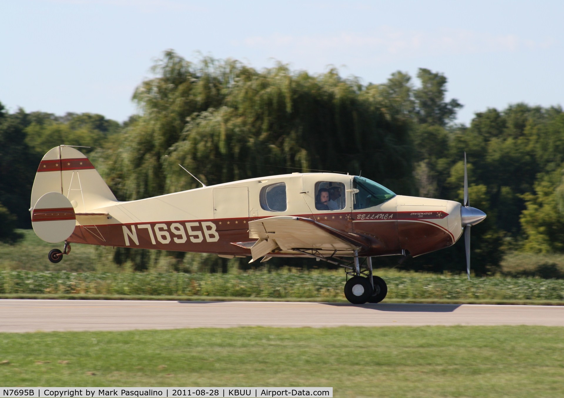 N7695B, 1958 Bellanca 14-19-2 Cruisair Senior C/N 4046, Bellanca 14-19-2