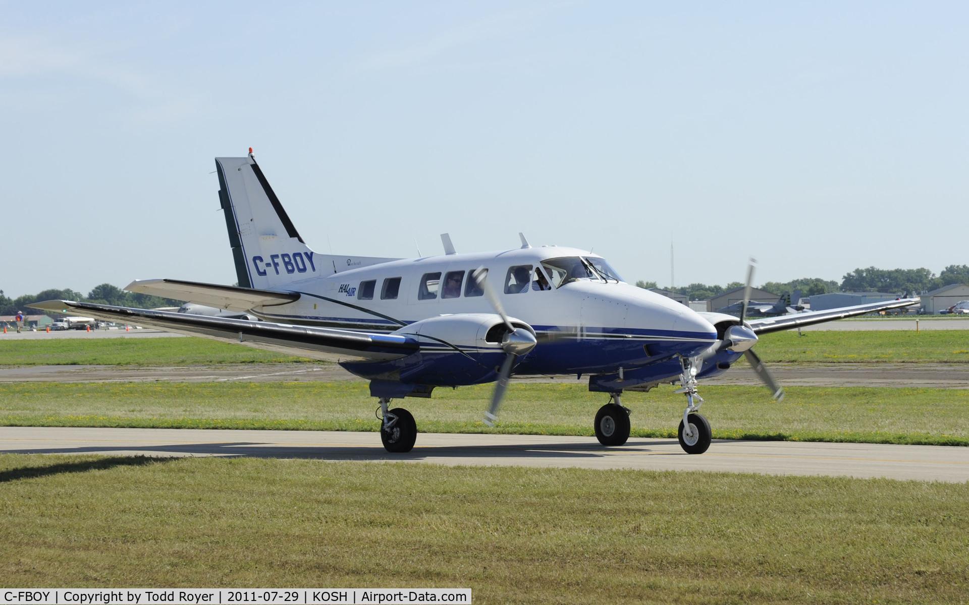 C-FBOY, 1968 Beech A65 Queen Air C/N LC 302, AIRVENTURE 2011