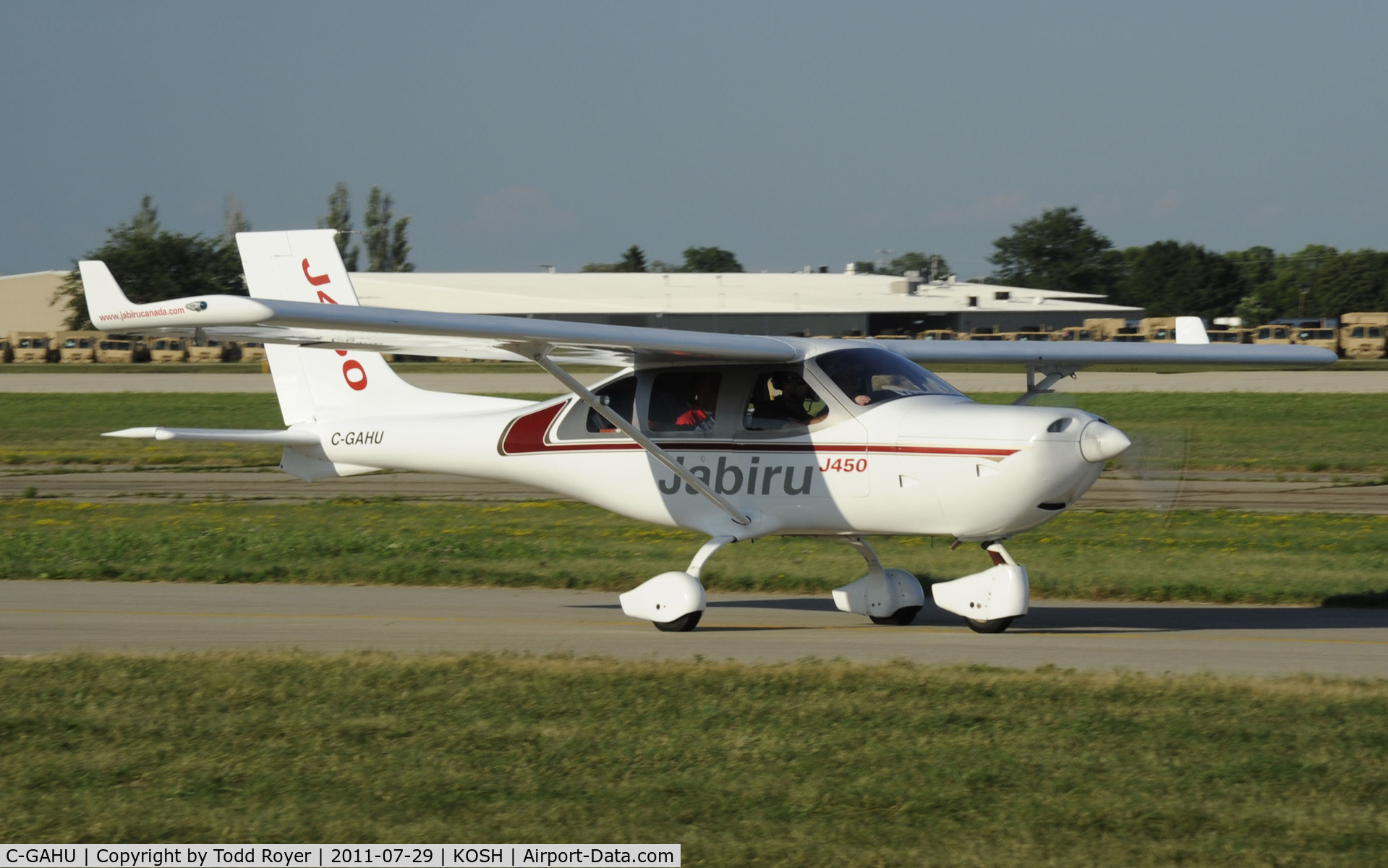 Aircraft C-GAHU (2004 Jabiru J450 C/N 101) Photo by Todd