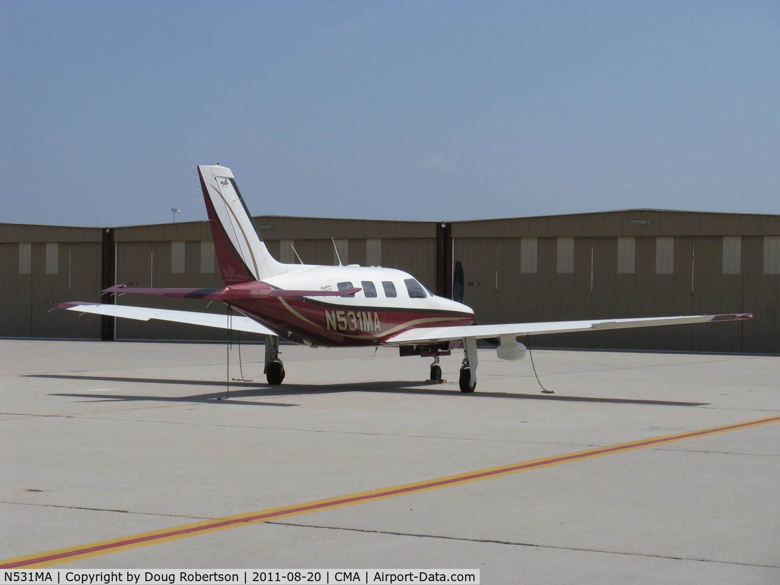 Aircraft N531ma 2002 Piper Pa 46 350p Malibu Mirage C N