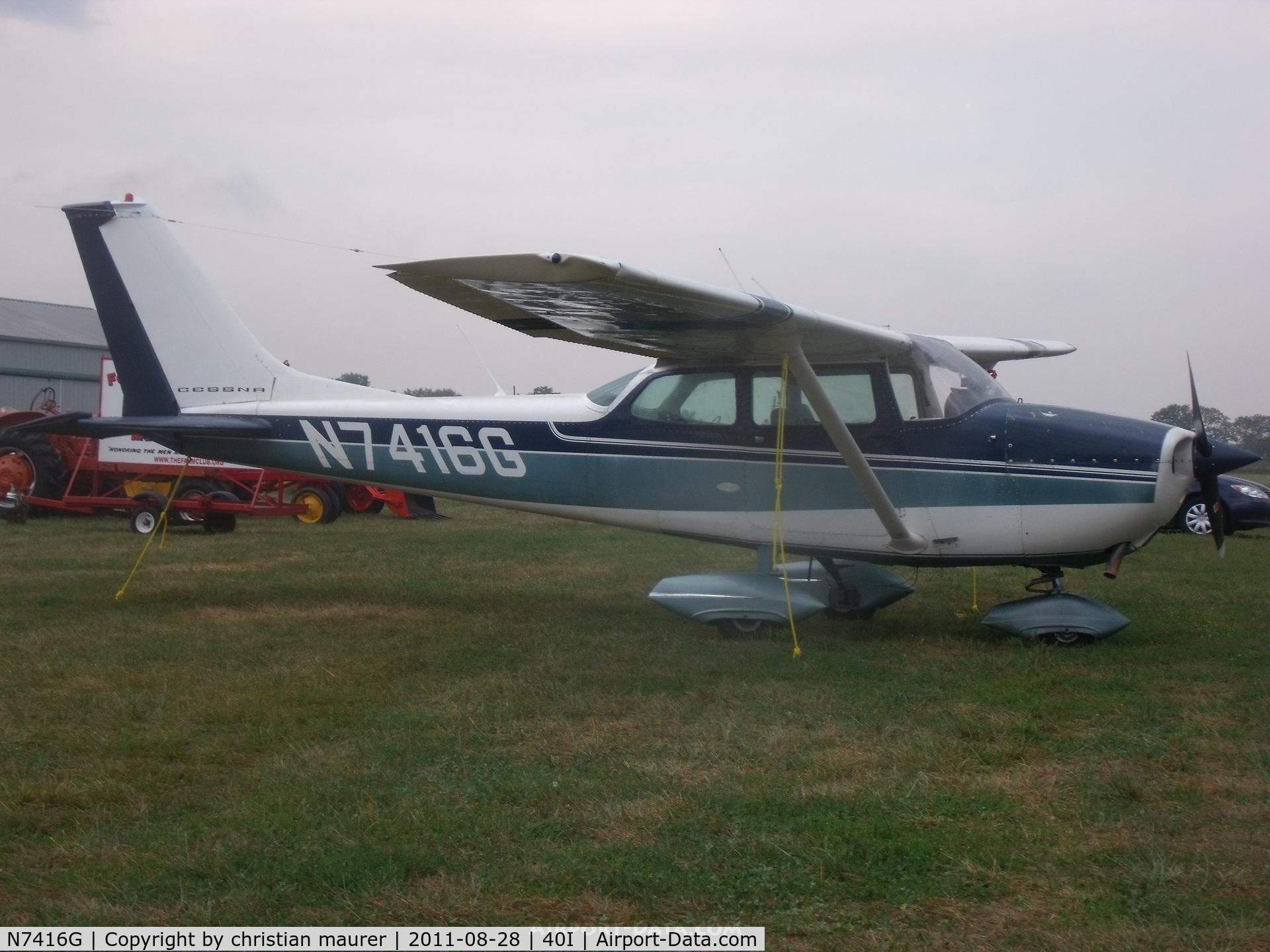 N7416G, 1970 Cessna 172K Skyhawk C/N 17259116, 172