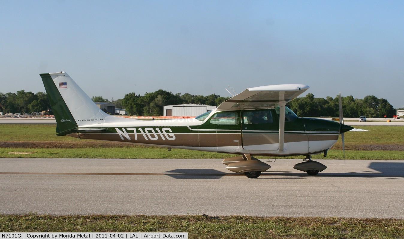 N7101G, 1969 Cessna 172K Skyhawk C/N 17258801, C172K