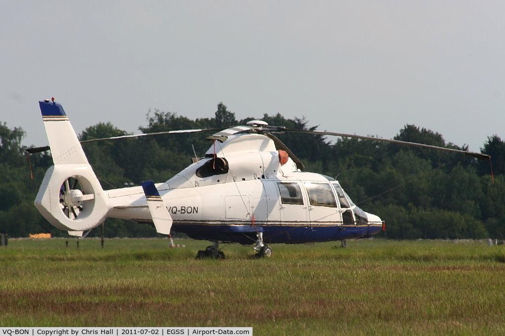 VQ-BON, Aerospatiale SA-365N Dauphin C/N 6770, ex 9M-TSM of Eurocopter SE Asia
