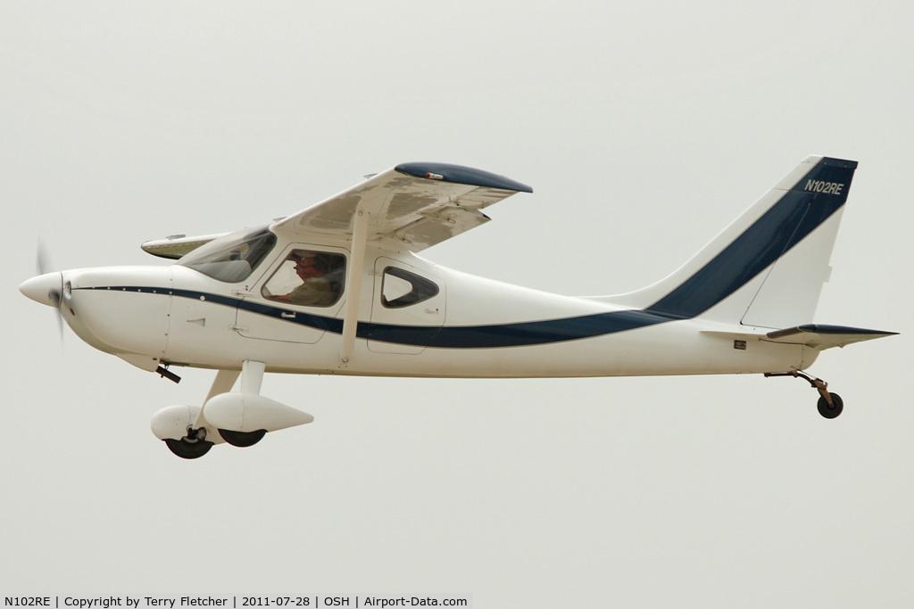 N102RE, 2006 Glasair GS-2 Sportsman C/N 7182, At 2011 Oshkosh