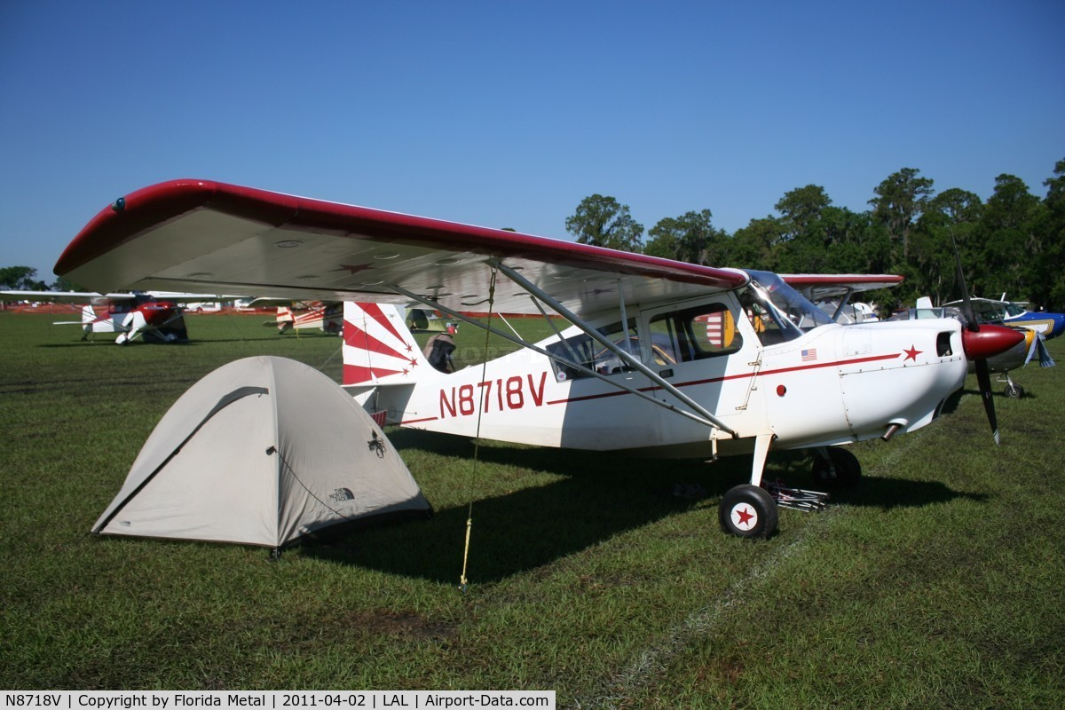 N8718V, 1975 Bellanca 7ECA C/N 1101-75, Bellanca 7ECA