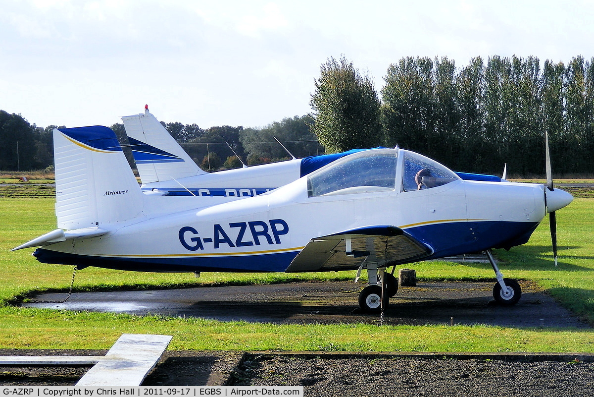G-AZRP, 1969 Victa Airtourer 115 C/N 529, privately owned