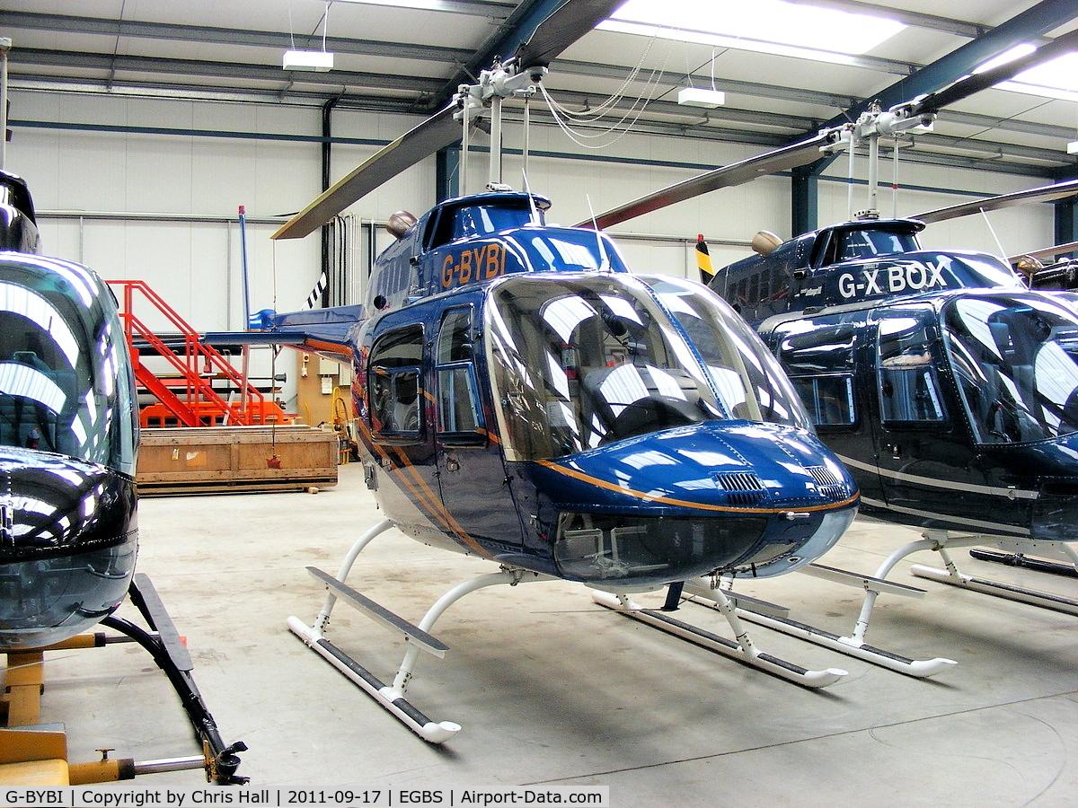 G-BYBI, 1992 Bell 206B JetRanger C/N 3668, privately owned