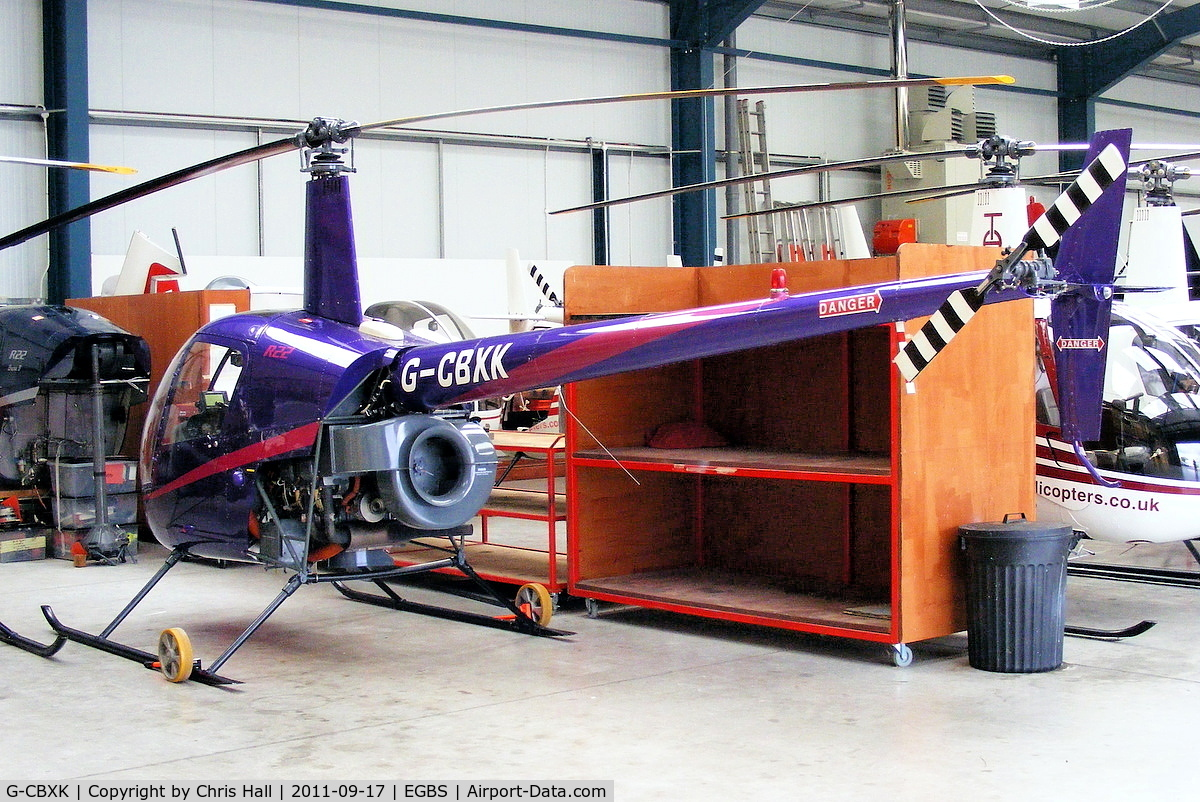 G-CBXK, 1993 Robinson R22 Mariner C/N 2302M, Tiger Helicopters Ltd