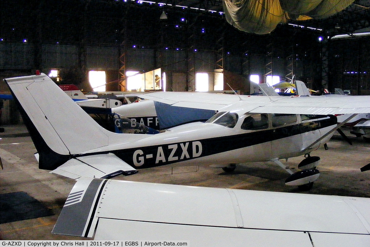 G-AZXD, 1972 Reims F172L Skyhawk C/N 0878, privately owned