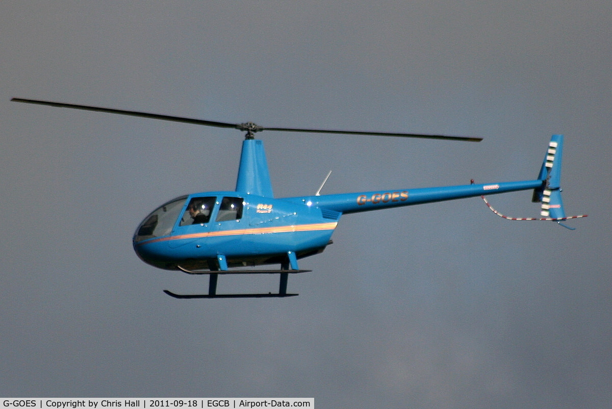 G-GOES, 2005 Robinson R44 Raven II C/N 10942, new Barton resident