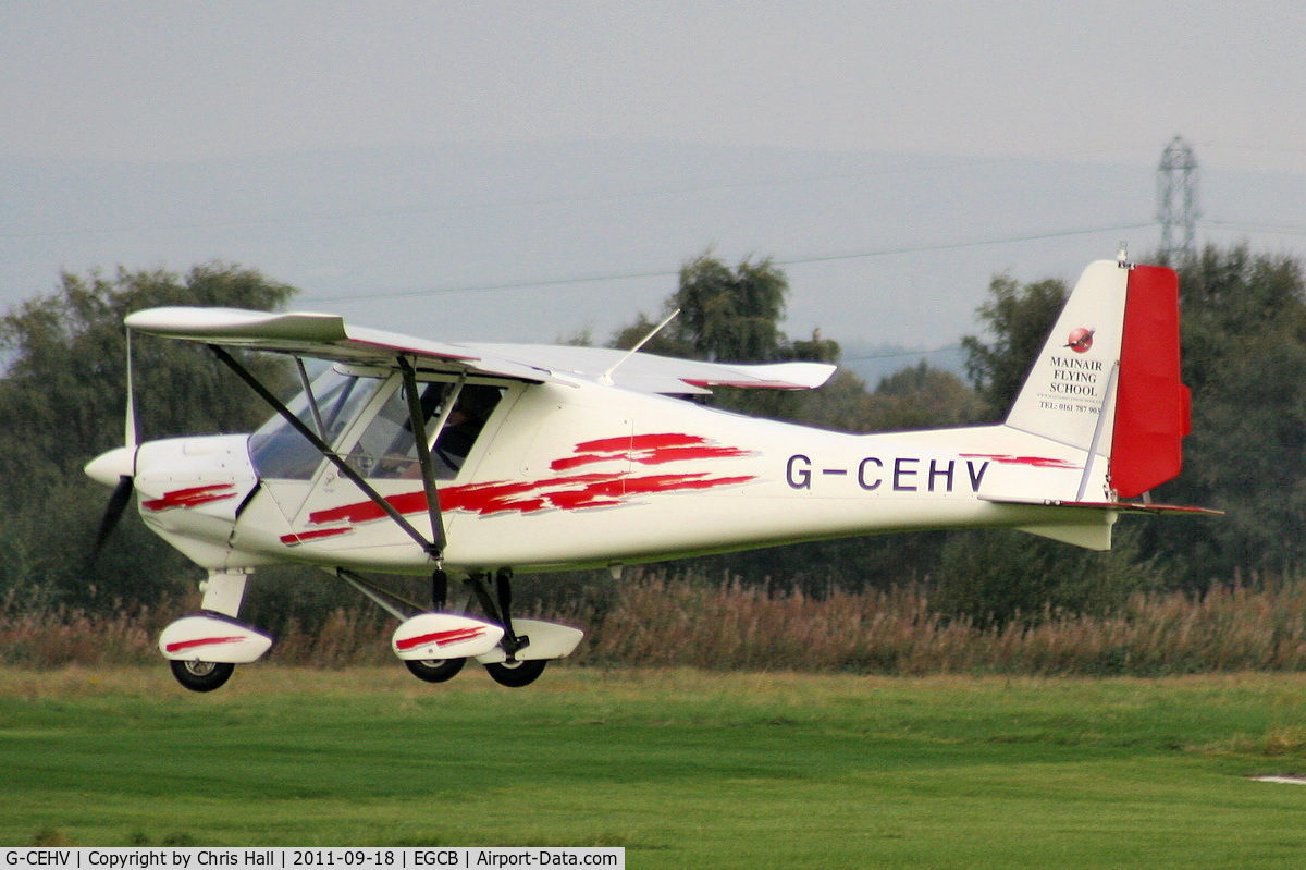 G-CEHV, 2006 Comco Ikarus C42 FB80 C/N 0610-6854, Mainair Microlight School