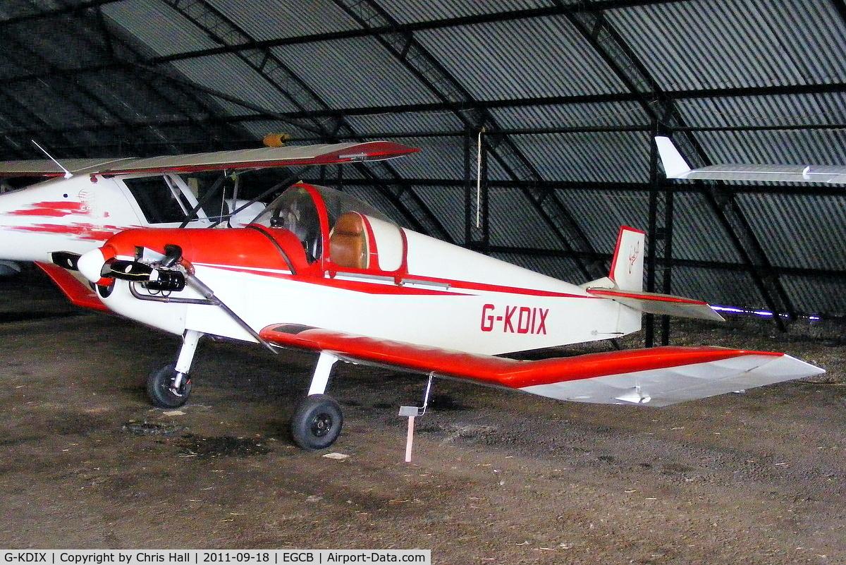 G-KDIX, 1984 Jodel D-9 Bebe Bebe C/N PFA 054-10293, Barton resident