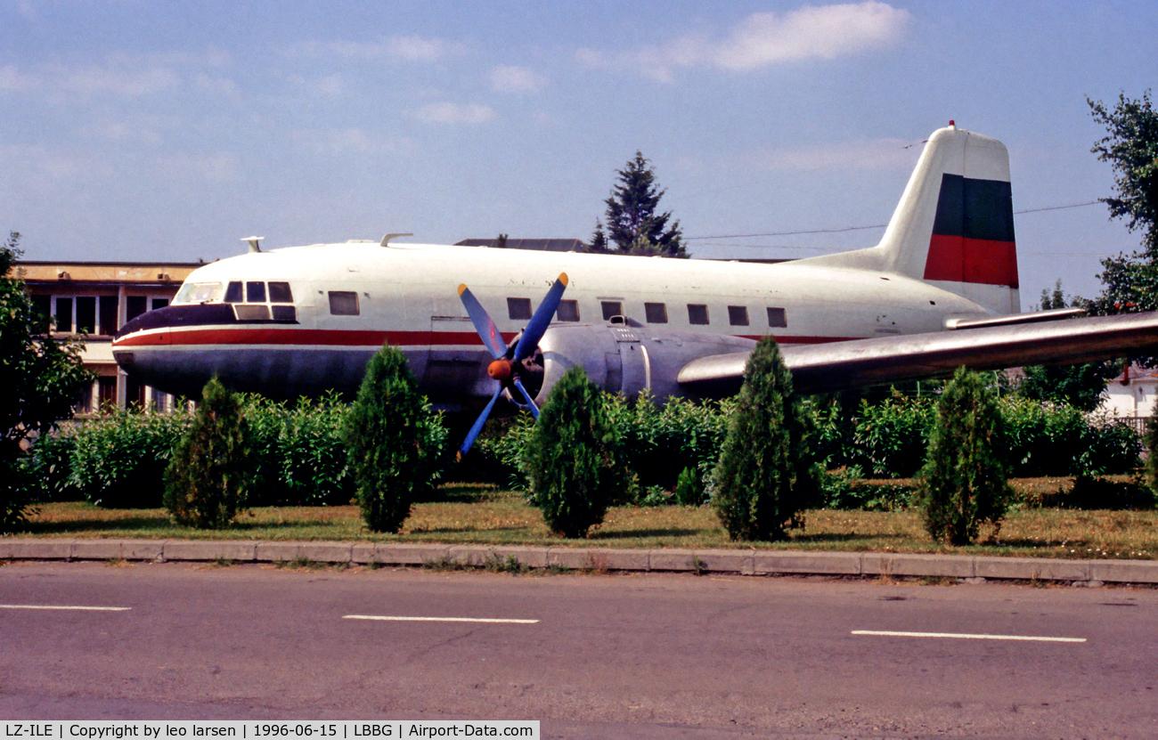LZ-ILE, 1958 Ilyushin (VEB) Il-14P C/N 14803040, BOJ Burgas Bulgaria 15.6.96