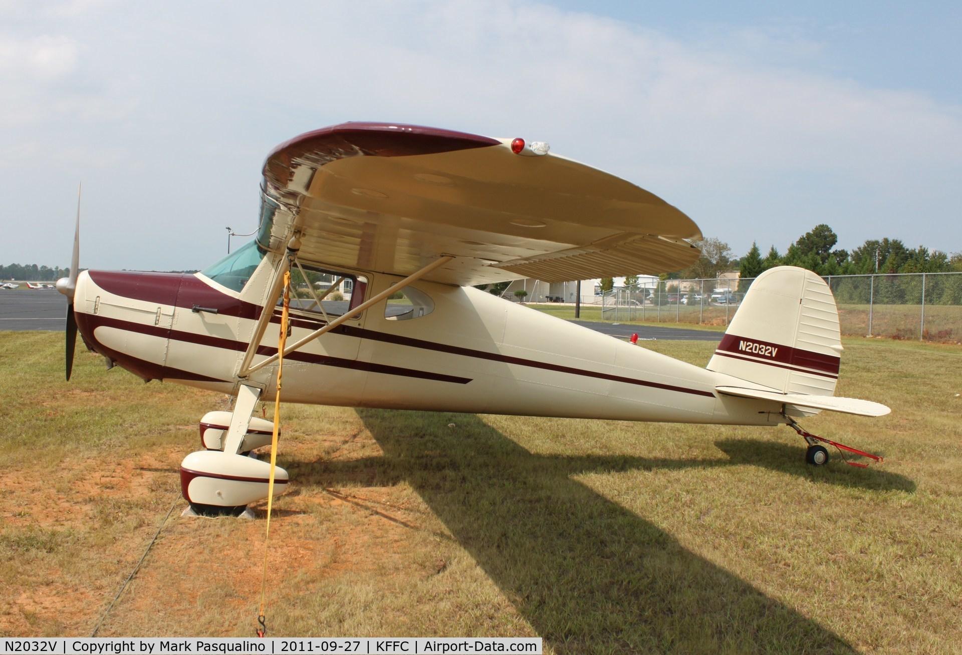 N2032V, 1947 Cessna 120 C/N 14245, Cessna 120