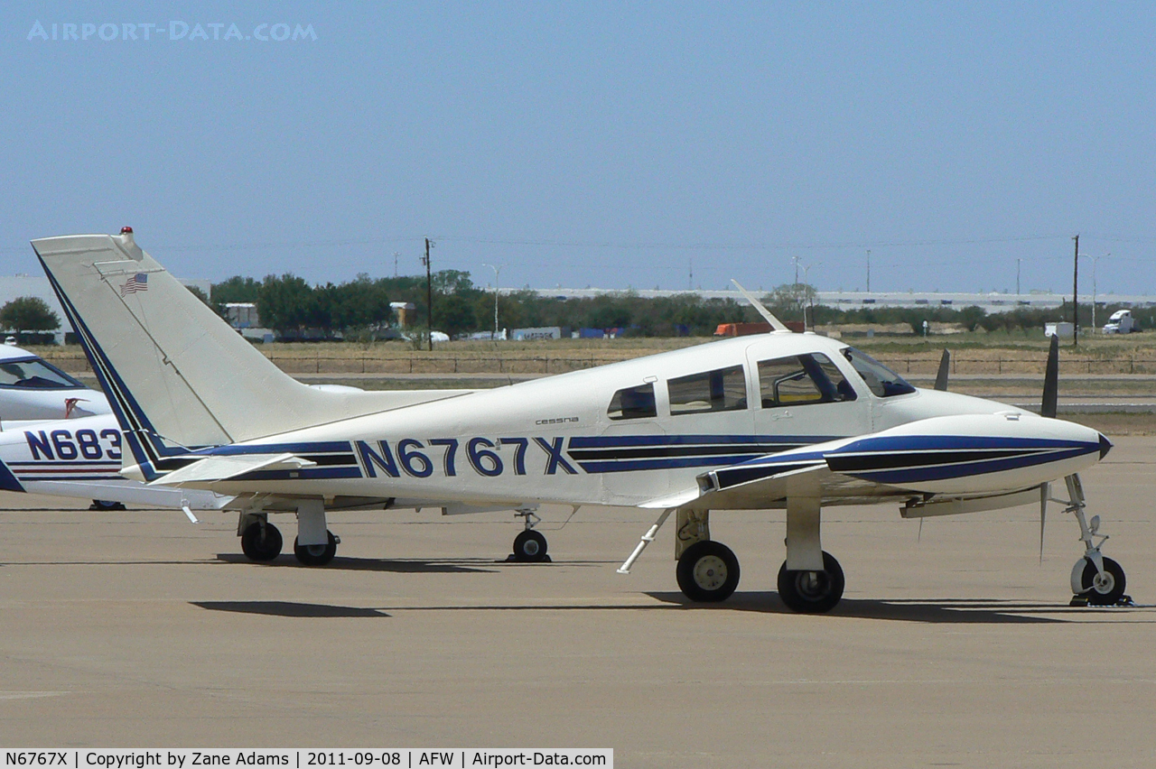 N6767X, 1961 Cessna 310F C/N 310-0067, At Alliance Airport - Fort Worth, TX