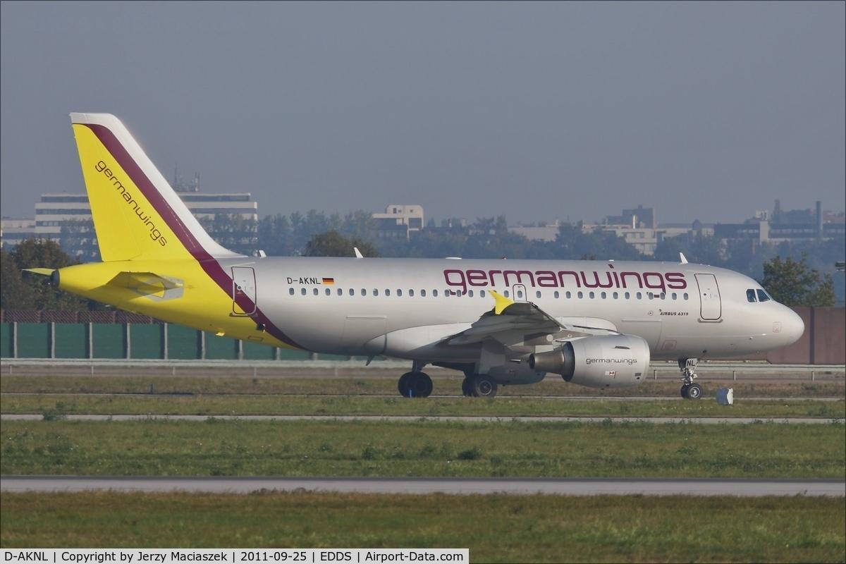 D-AKNL, 1999 Airbus A319-112 C/N 1084, Airbus A319-112