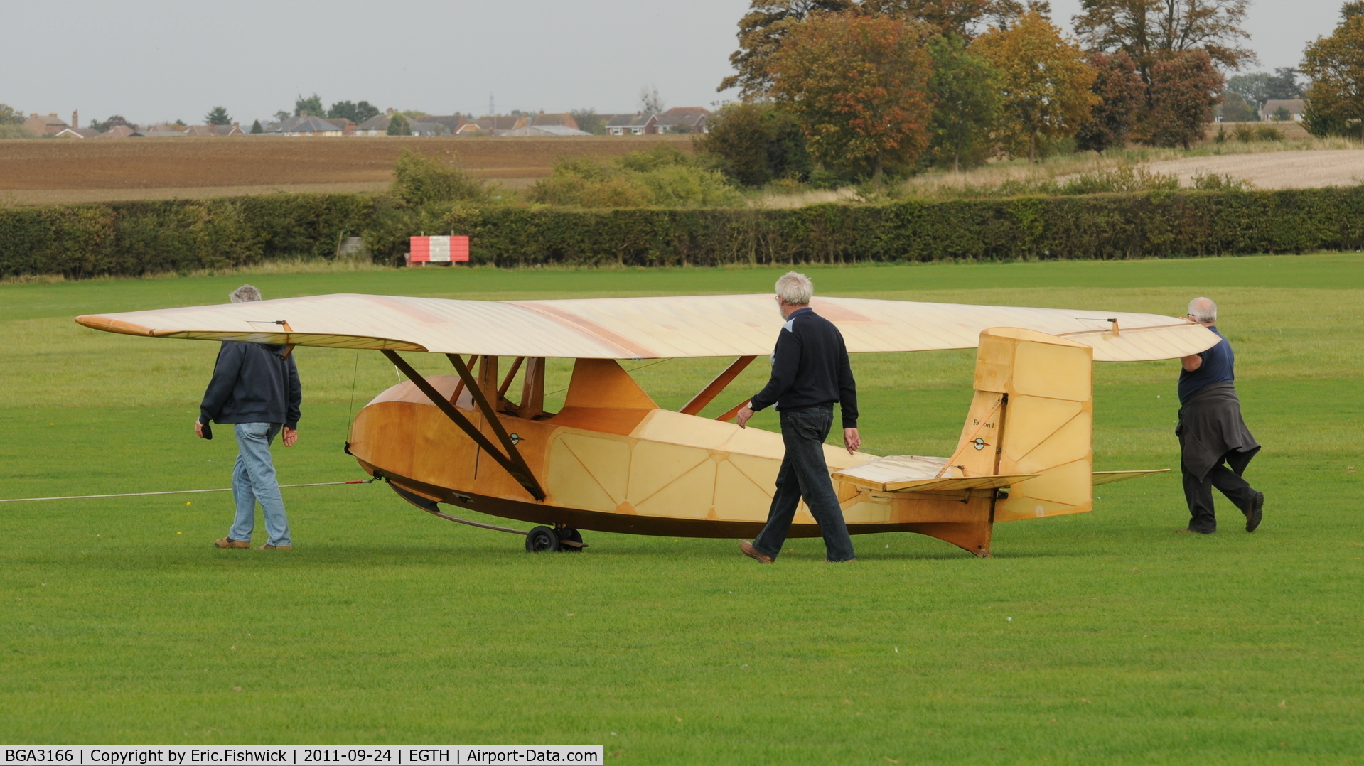 BGA3166, Slingsby T-1 Falcon Replica C/N Not found BGA3166, 1. BGA3166 at the glorious Shuttleworth Uncovered Air Display, September 2011