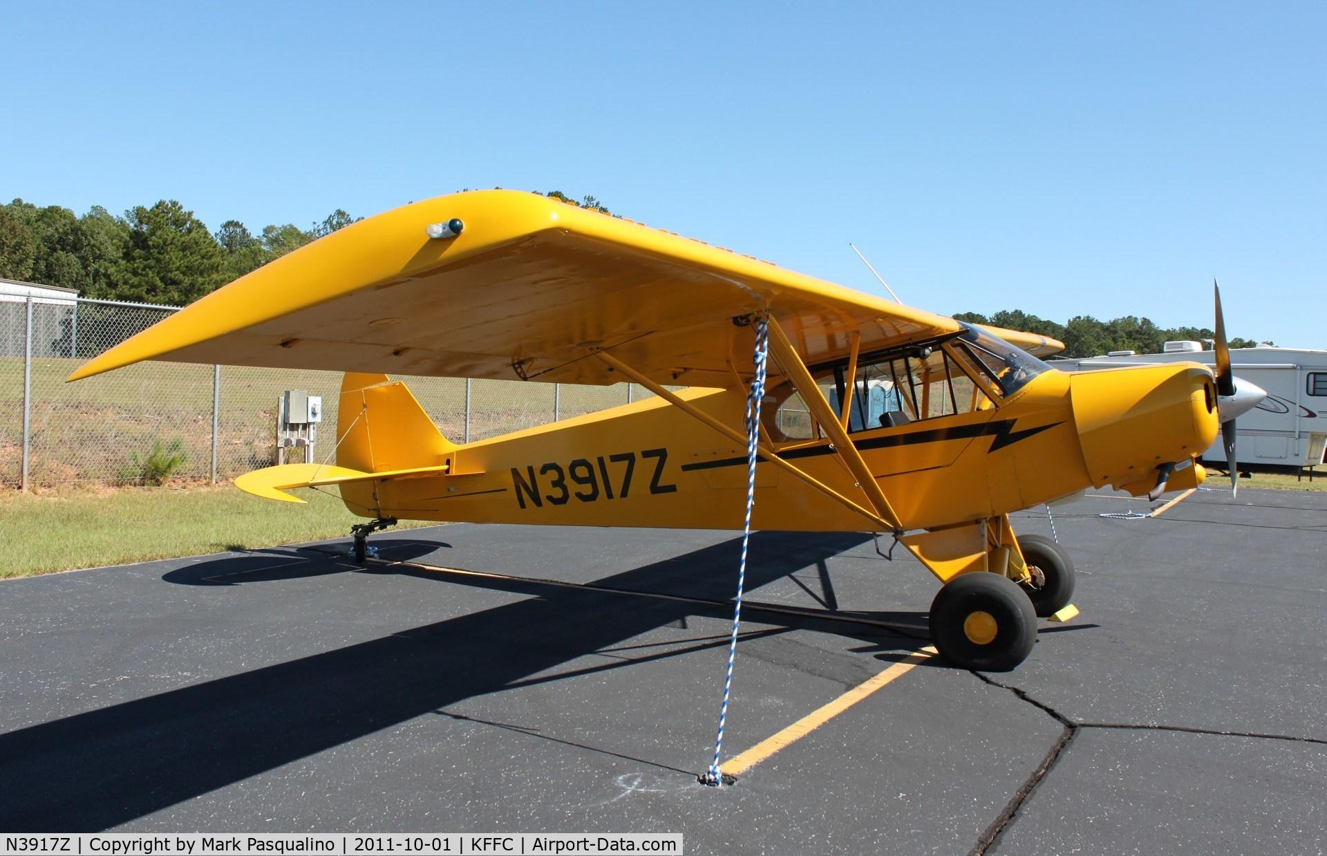 N3917Z, 1961 Piper PA-18-150 Super Cub C/N 18-7741, Piper PA-18-150