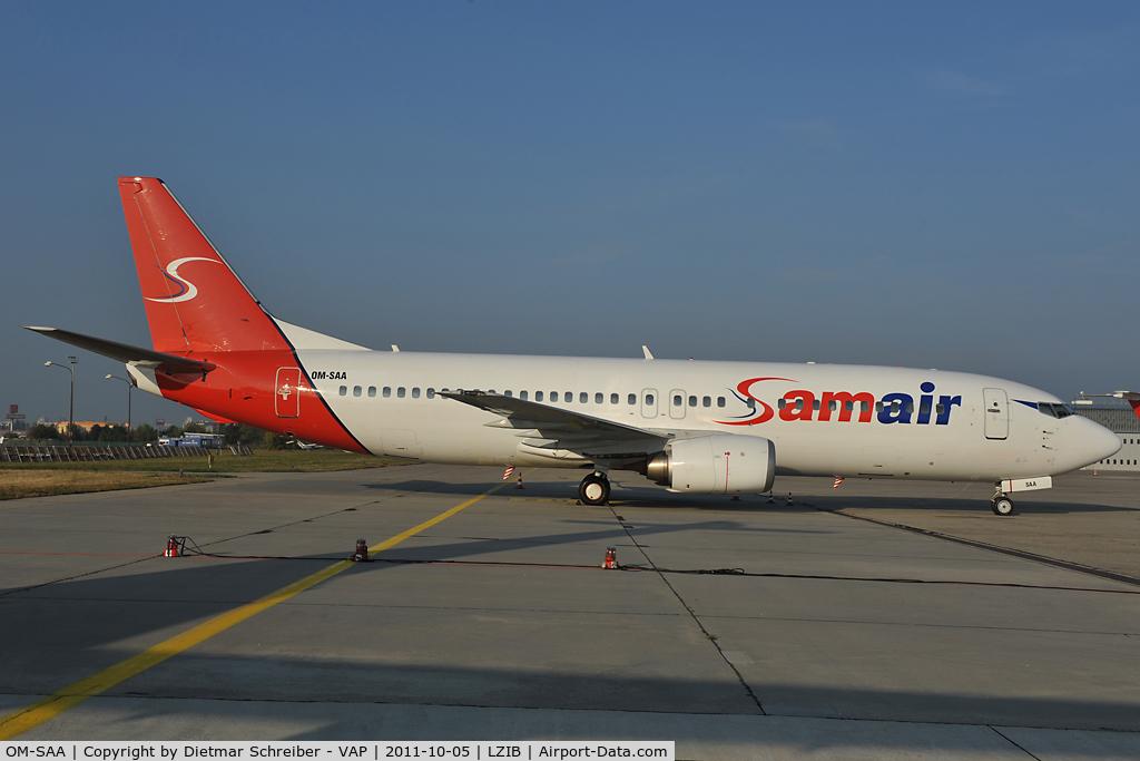 OM-SAA, 1992 Boeing 737-476 C/N 24439, Sam Air Boeing 737-400