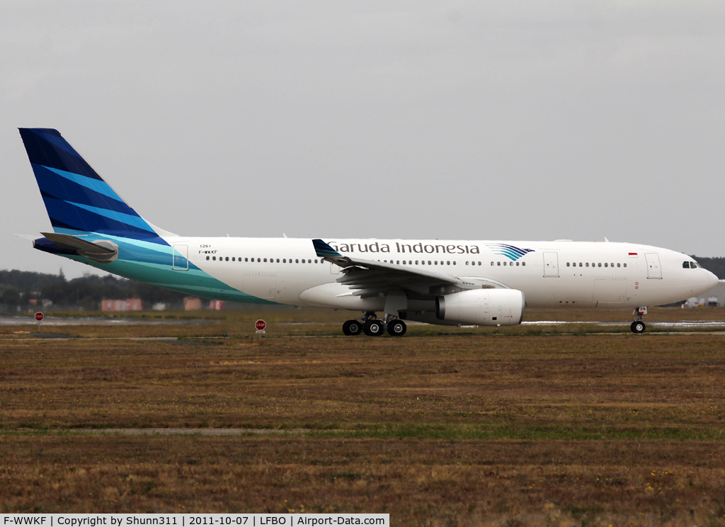 F-WWKF, 2011 Airbus A330-243 C/N 1261, C/n 1261 - To be PK-GPN