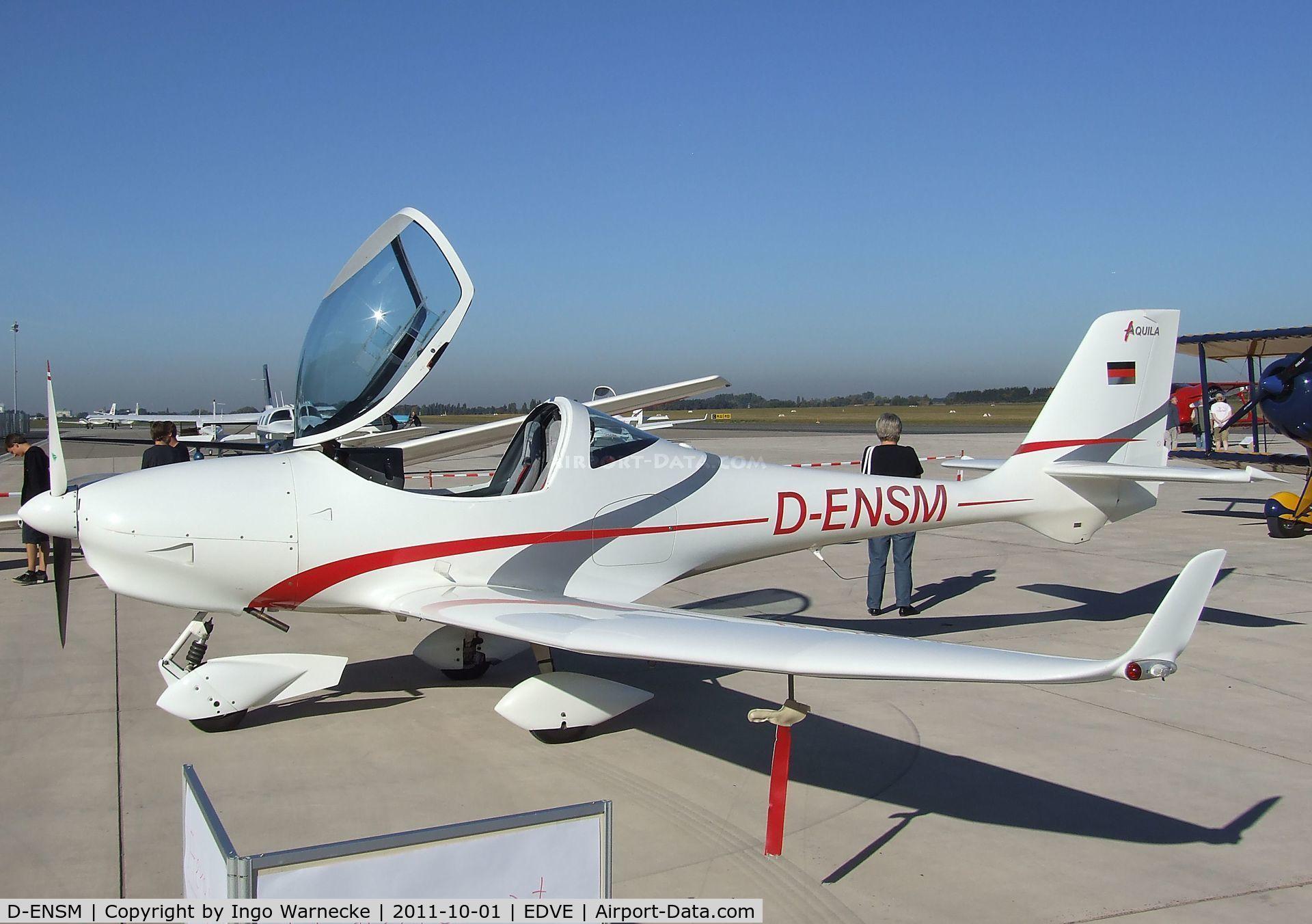 D-ENSM, Aquila A210 (AT01) C/N AT01-129, Aquila AT-01 A210 at Braunschweig-Waggum airport