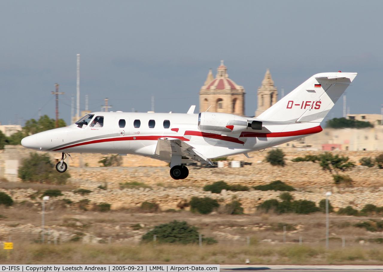 D-IFIS, 2007 Cessna 525A  Citation CJ2+ C/N 525A-0340, Landing 31