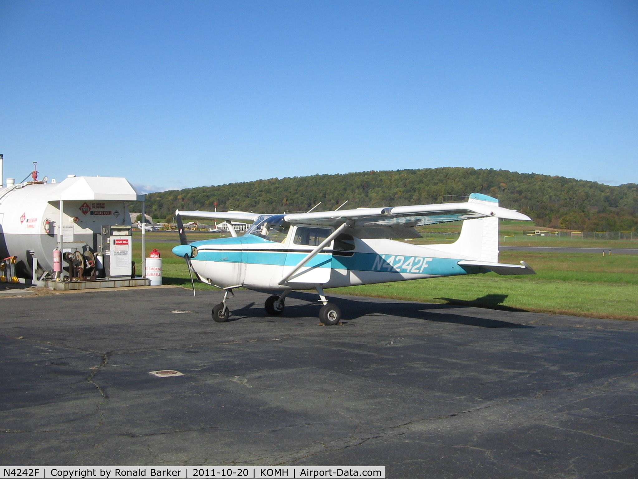 N4242F, 1958 Cessna 172 Skyhawk C/N 46142, Orange, VA