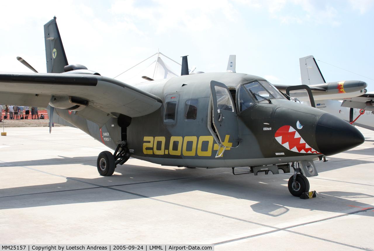 MM25157, Piaggio P-166DL-3 C/N 476, Static display