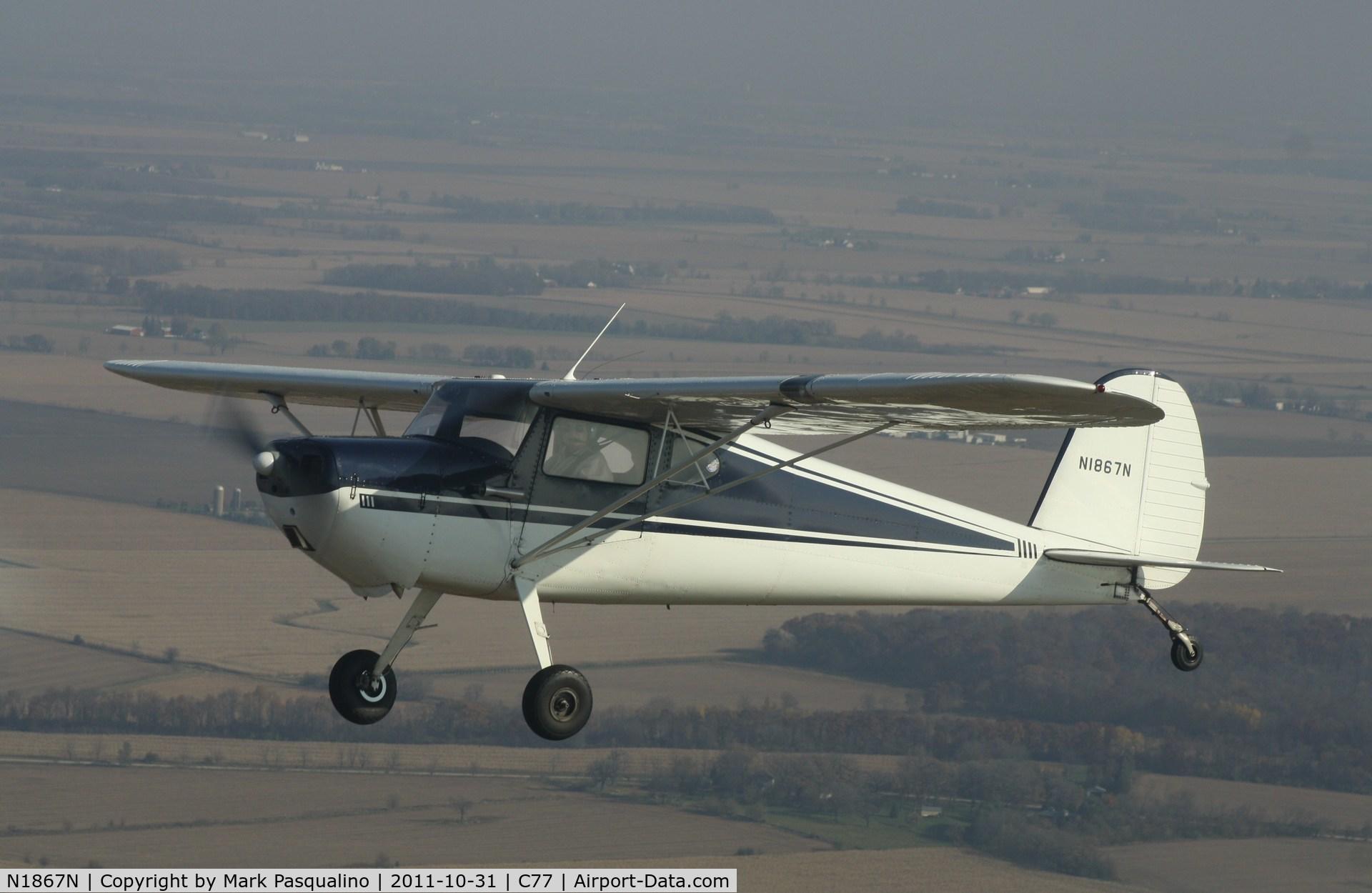 N1867N, 1946 Cessna 120 C/N 12111, Cessna 120