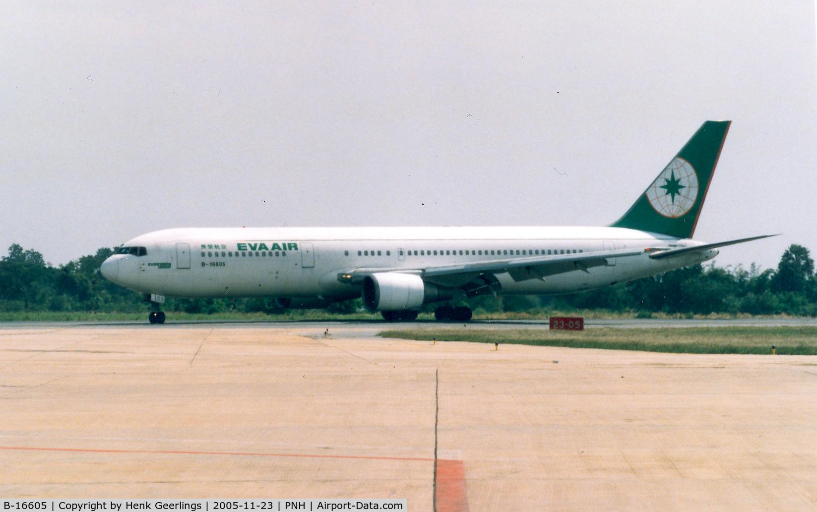 B-16605, 1992 Boeing 767-35E/ER C/N 26064, Eva Air