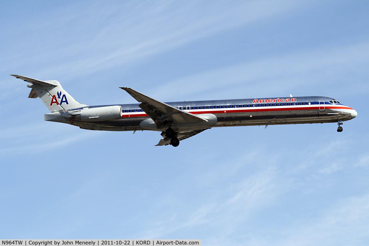 N964TW, 1999 McDonnell Douglas MD-83 (DC-9-83) C/N 53614, Short final