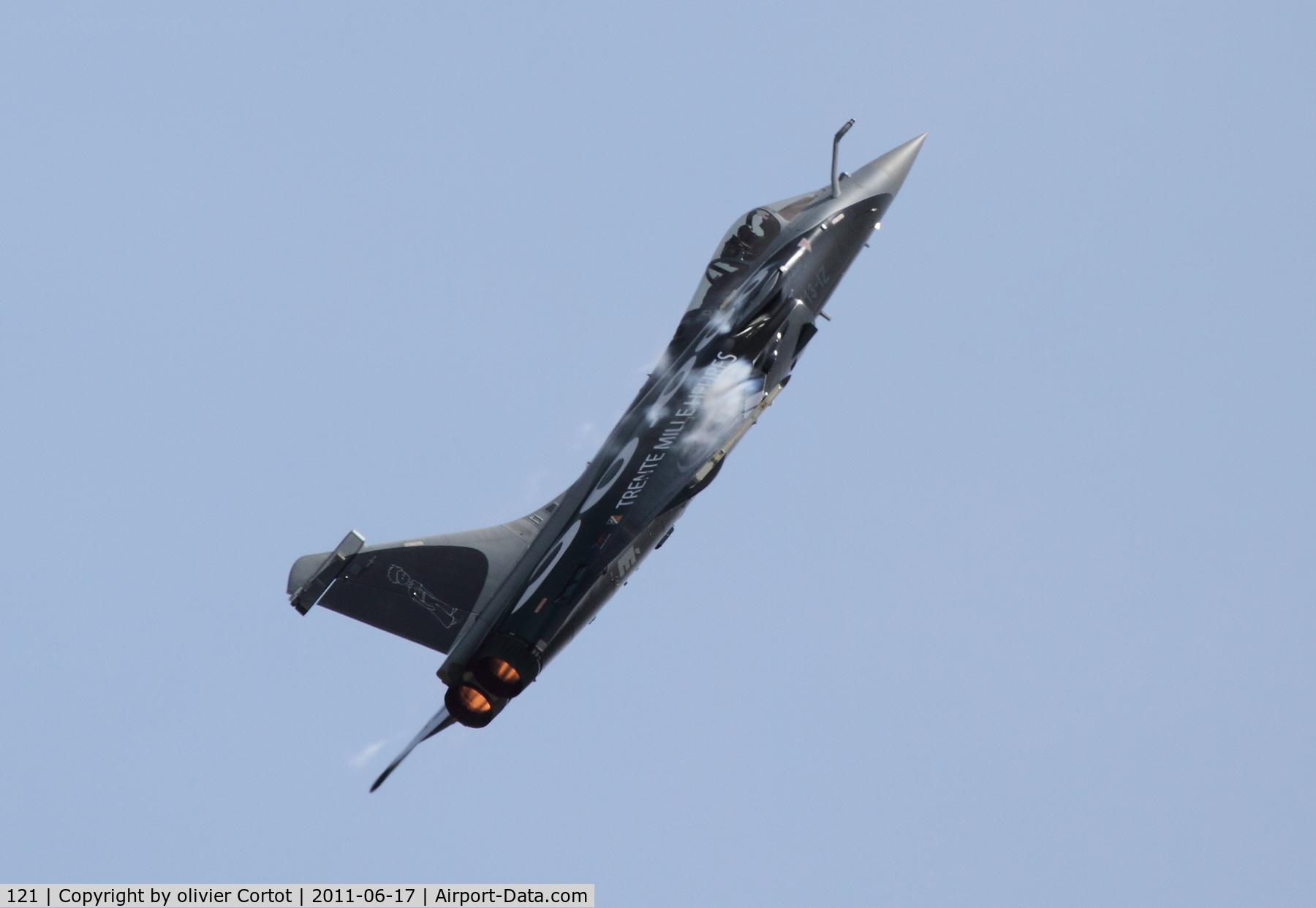 121, Dassault Rafale C C/N 121, Saint dizier airshow 2011