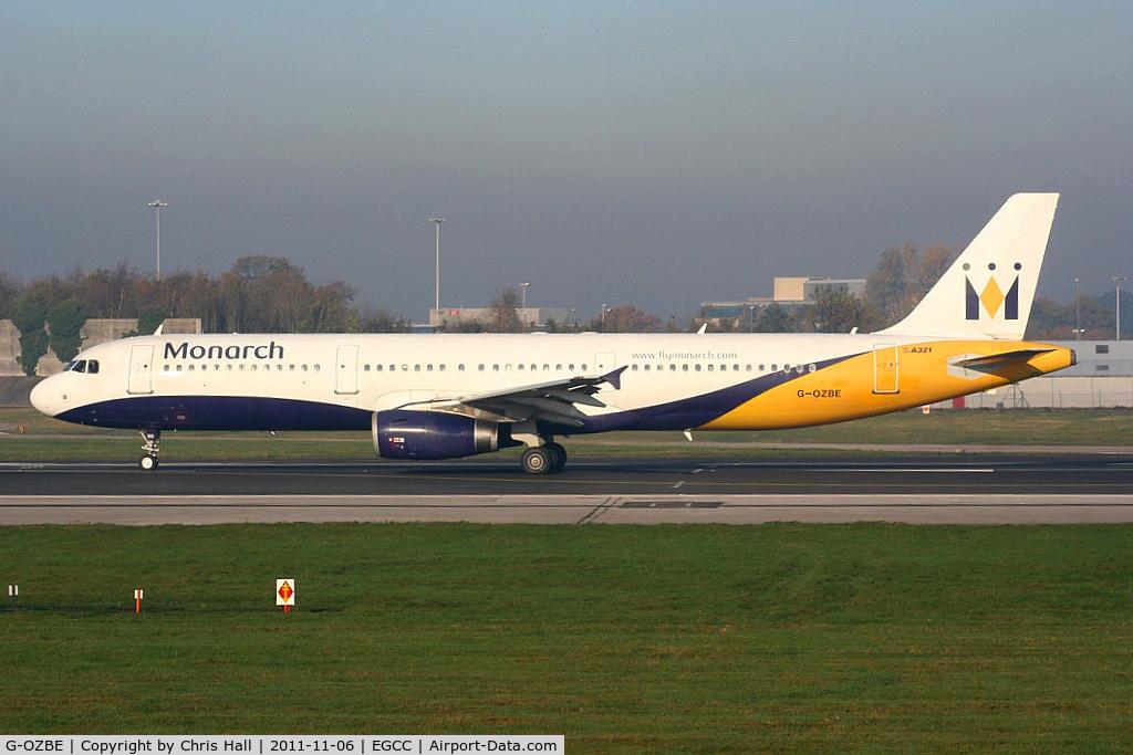 G-OZBE, 2002 Airbus A321-231 C/N 1707, Monarch