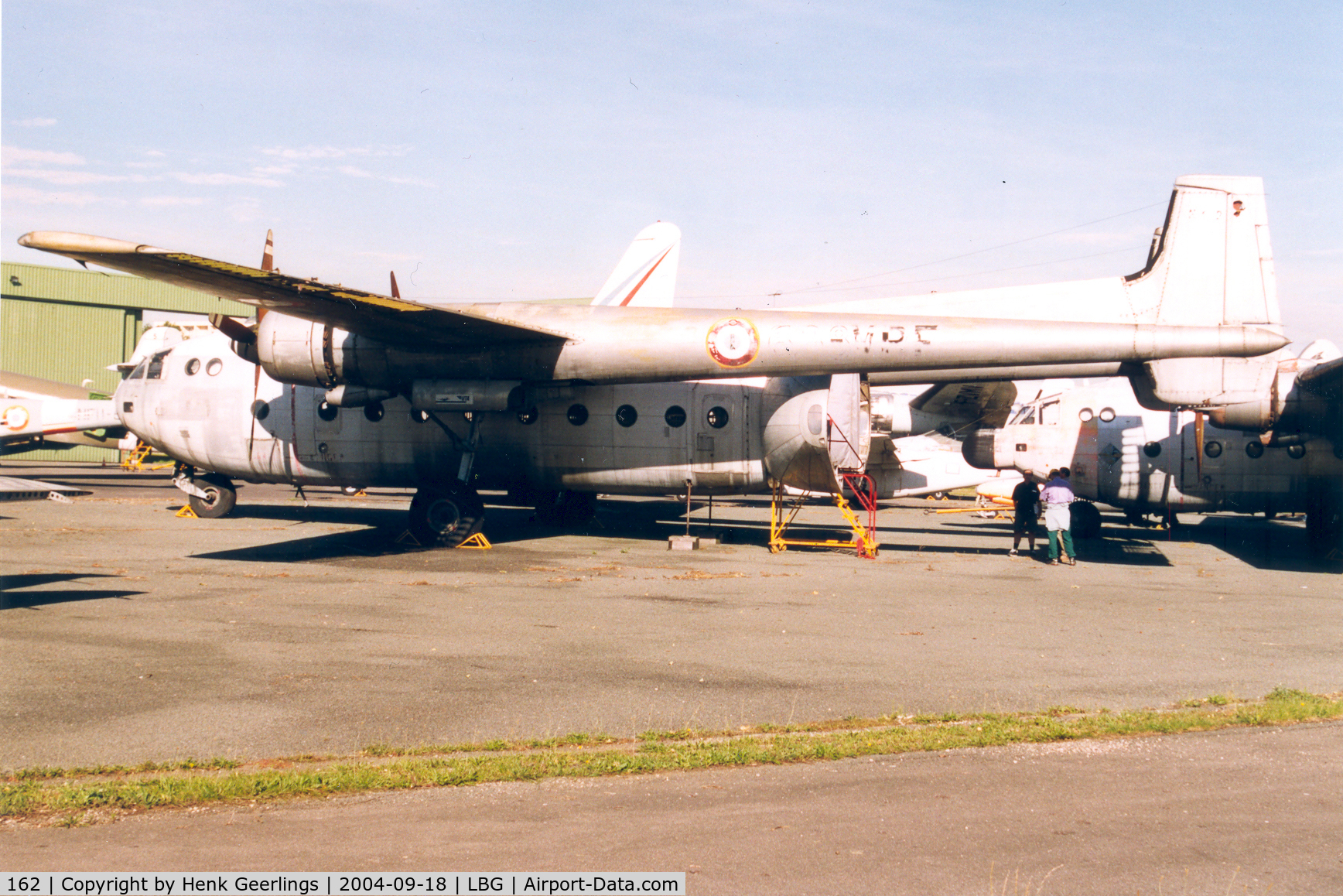 162, Nord N-2501F Noratlas C/N 162, Musee de l'air at Le Bourget , Dungy section ; French AF., Noratlas