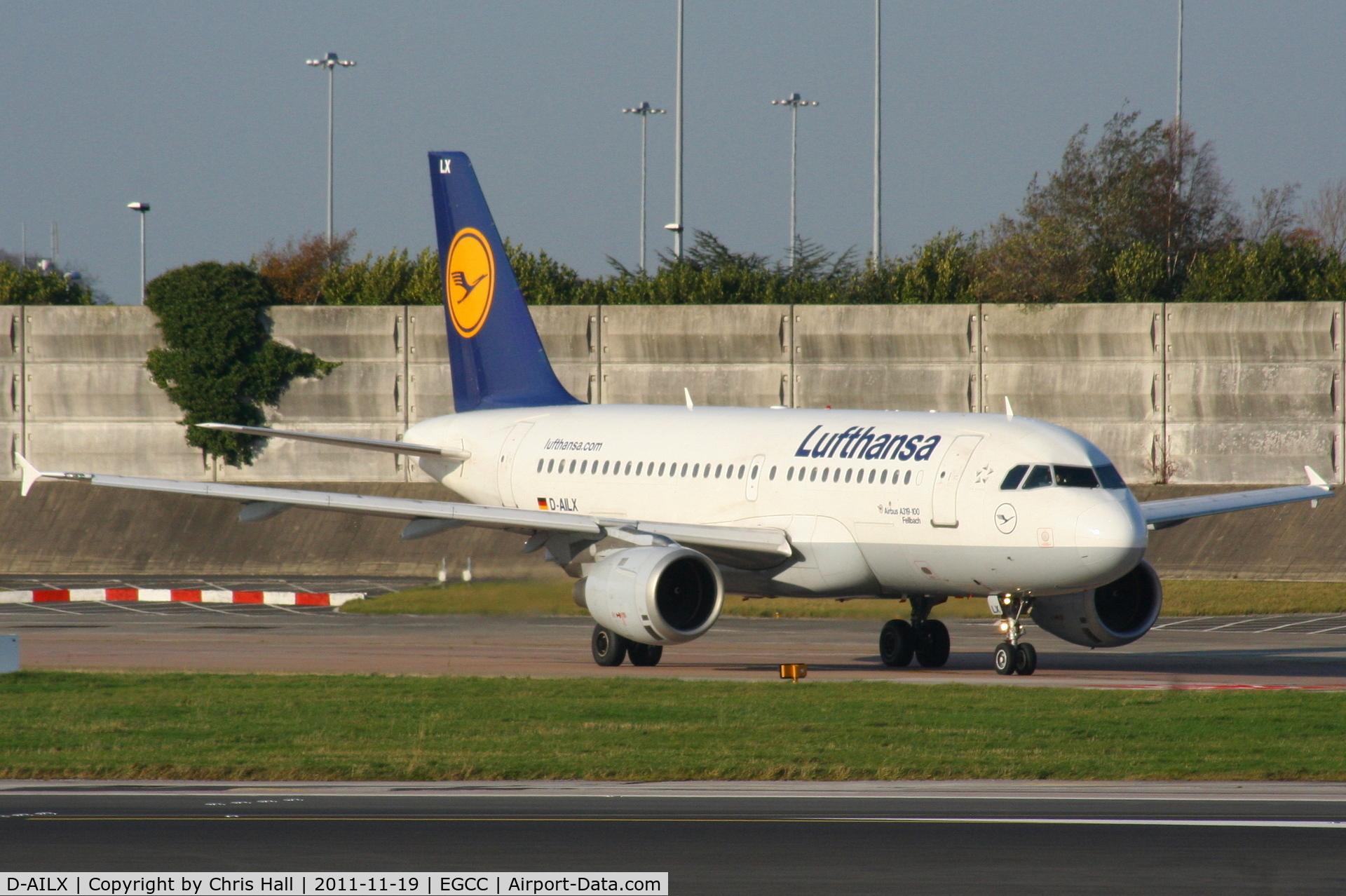 D-AILX, 1998 Airbus A319-114 C/N 860, Lufthansa
