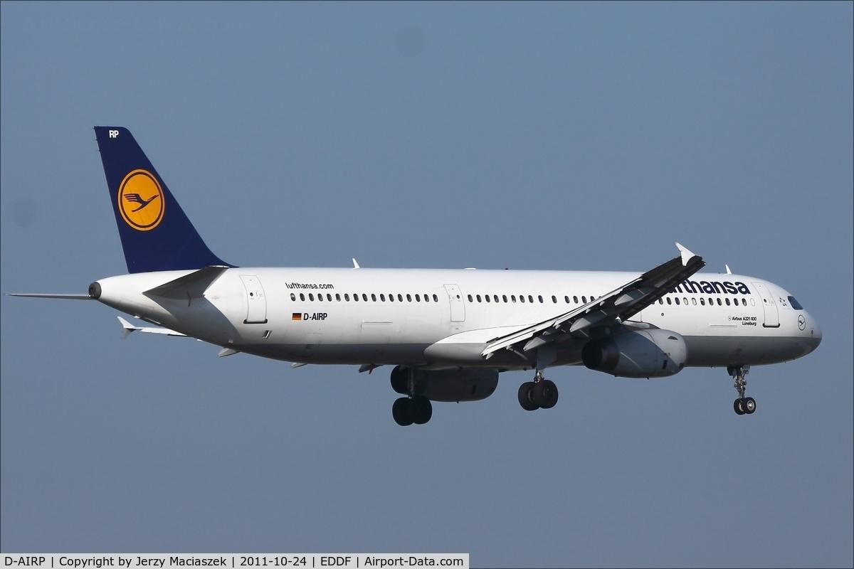 D-AIRP, 1995 Airbus A321-131 C/N 0564, Airbus A321-131
