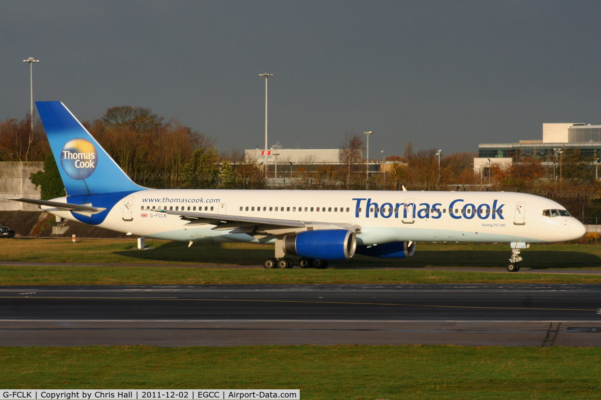 G-FCLK, 1993 Boeing 757-2Y0 C/N 26161, Thomas Cook