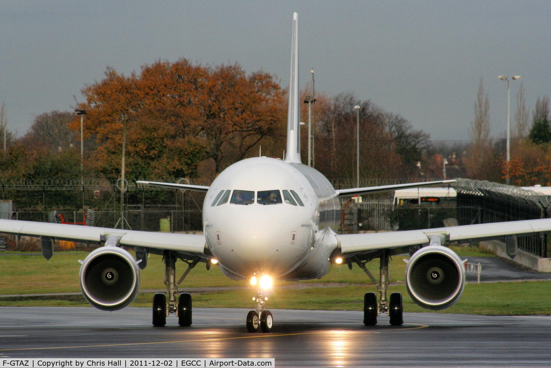 F-GTAZ, 2011 Airbus A321-212 C/N 4901, Air France